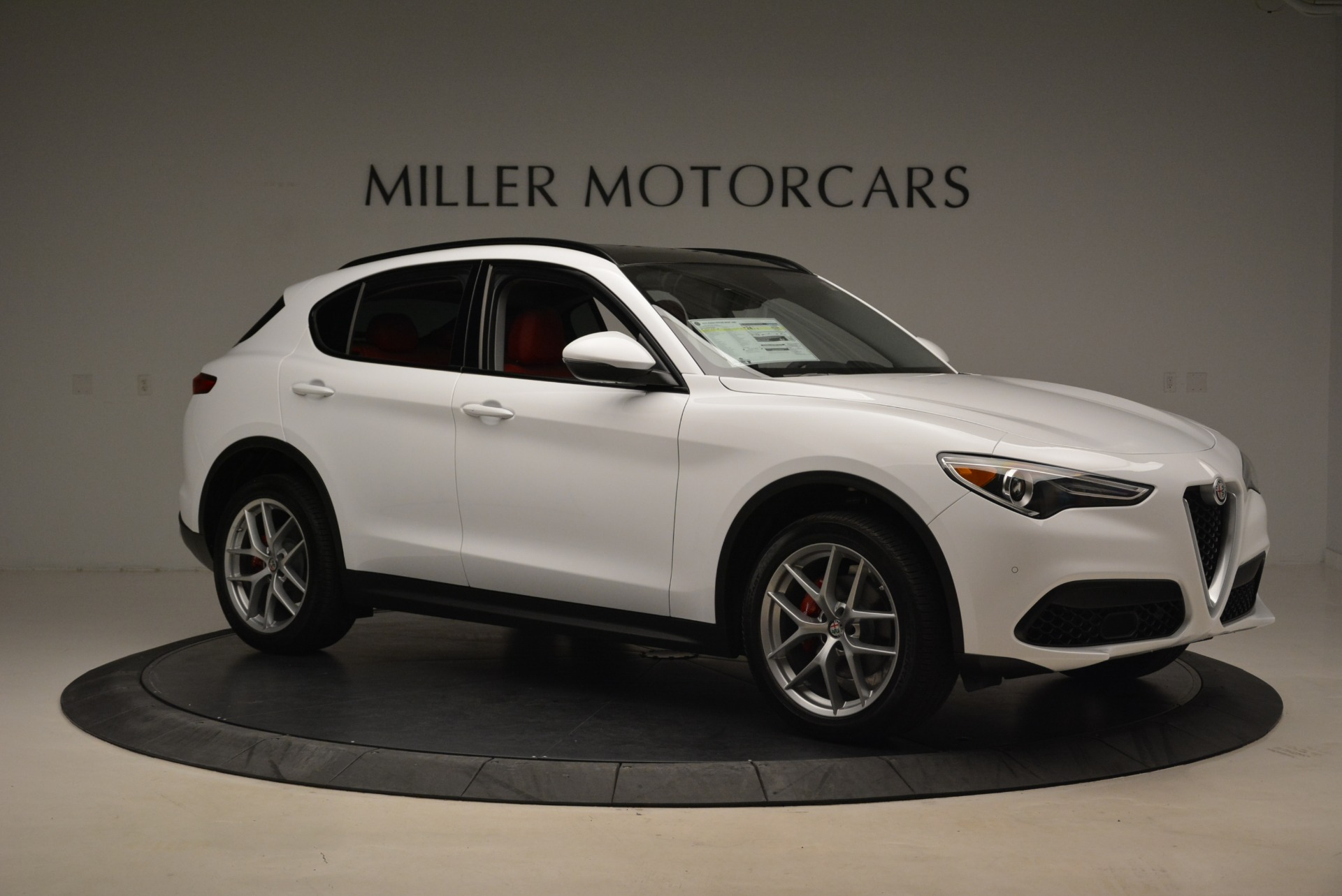 New 2018 Alfa Romeo Stelvio Ti Sport Q4 For Sale In Westport, CT 2381_p10