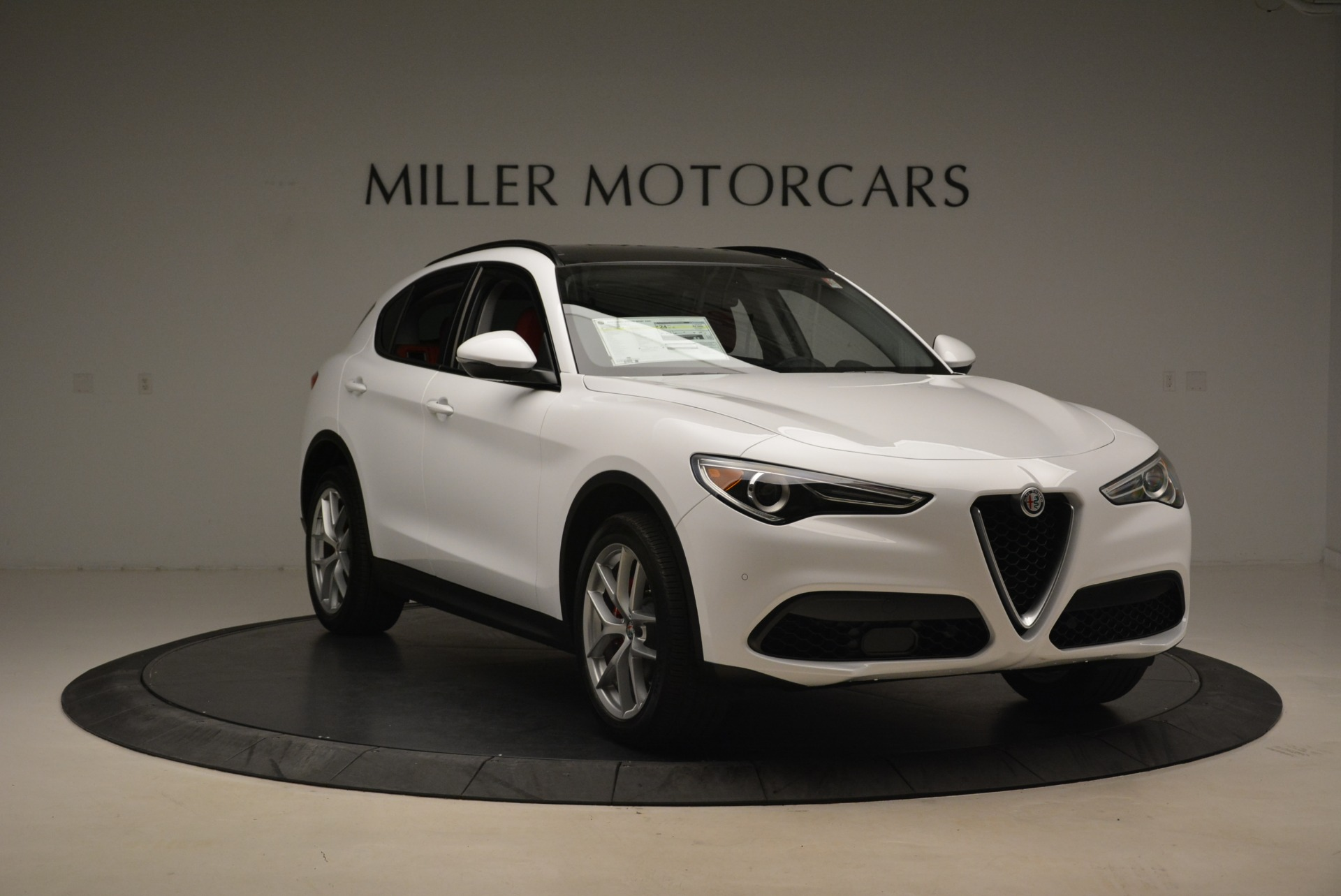 New 2018 Alfa Romeo Stelvio Ti Sport Q4 For Sale In Westport, CT 2381_p11