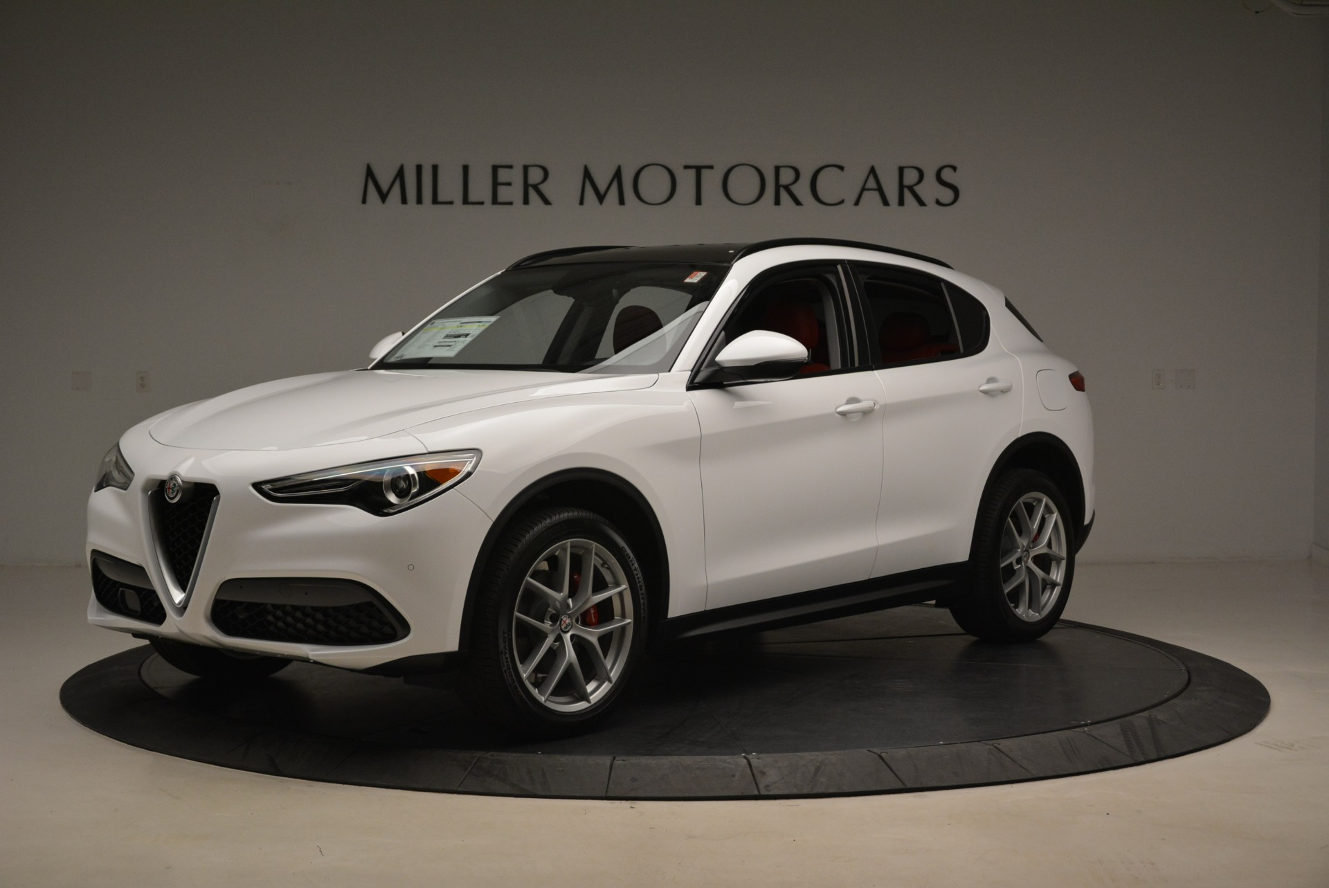 New 2018 Alfa Romeo Stelvio Ti Sport Q4 For Sale In Westport, CT 2381_p2
