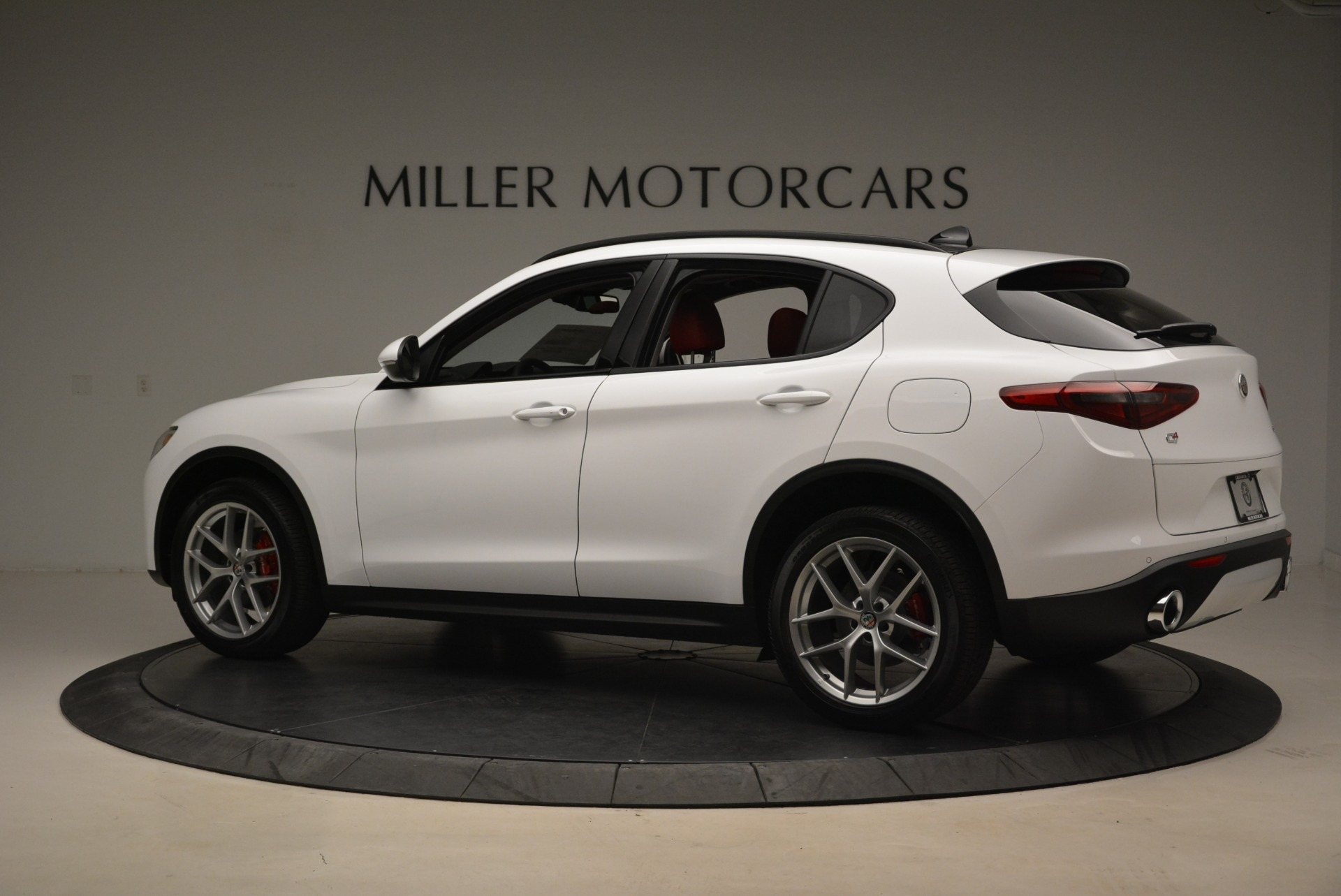 New 2018 Alfa Romeo Stelvio Ti Sport Q4 For Sale In Westport, CT 2381_p4