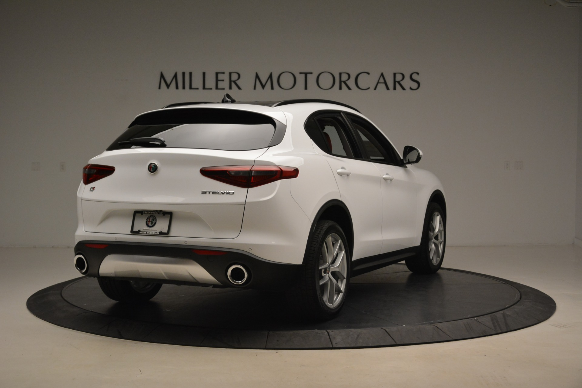 New 2018 Alfa Romeo Stelvio Ti Sport Q4 For Sale In Westport, CT 2381_p7