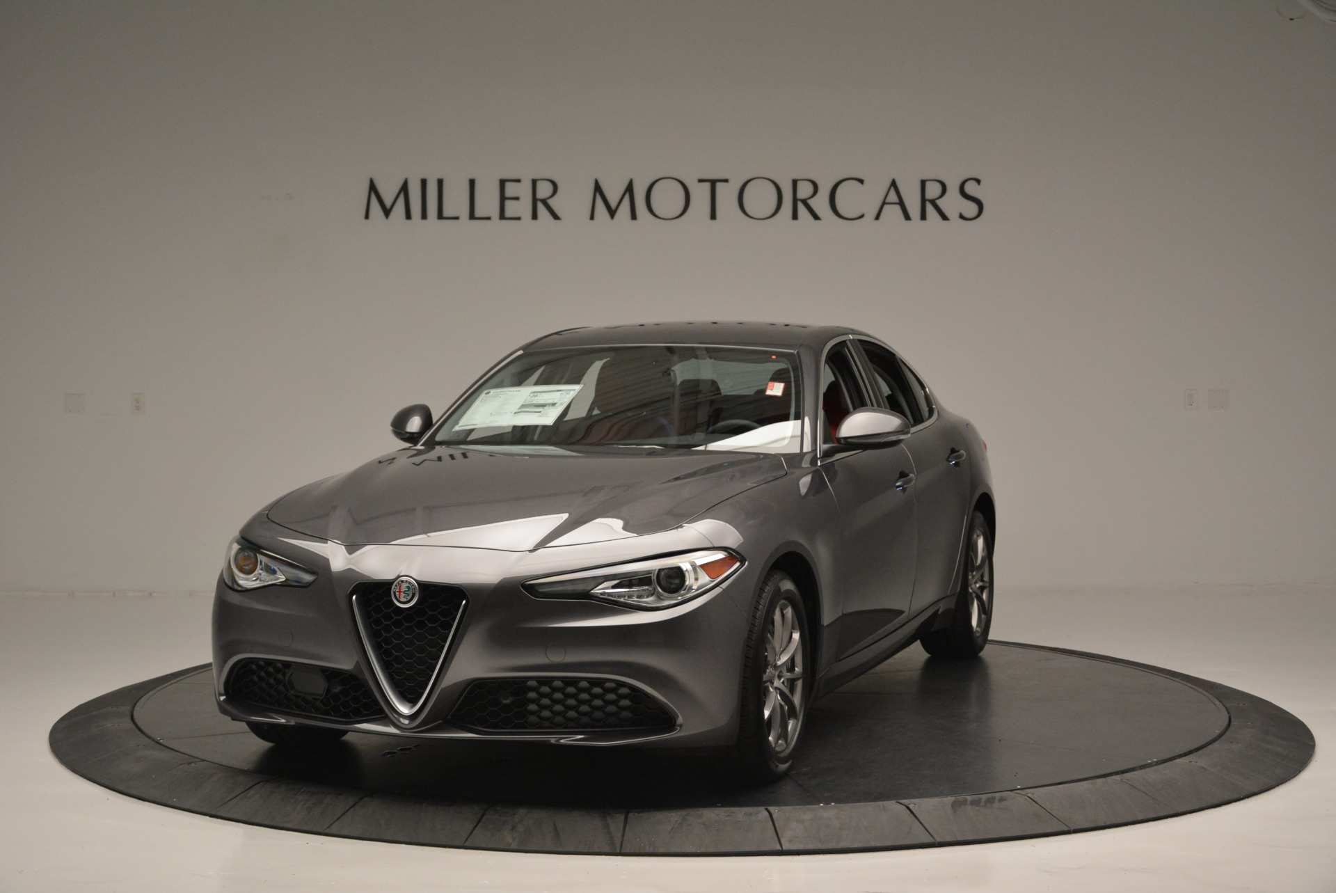 New 2018 Alfa Romeo Giulia Q4 For Sale In Westport, CT 2383_main