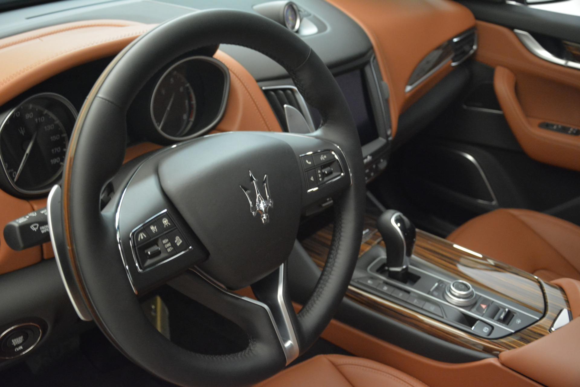 New 2018 Maserati Levante S Q4 GranLusso For Sale In Westport, CT 2384_p11