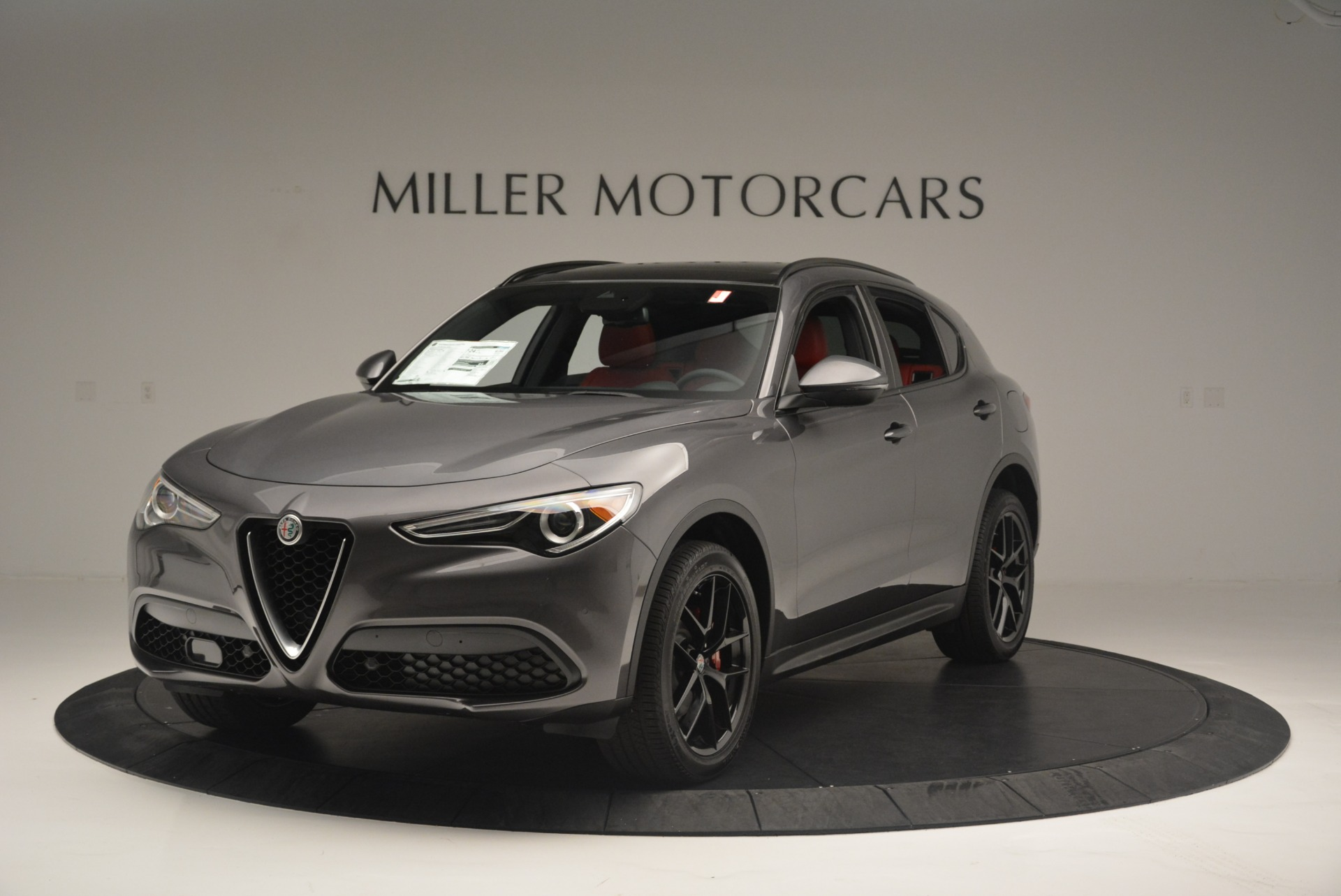 New 2018 Alfa Romeo Stelvio Ti Sport Q4 For Sale In Westport, CT 2393_main