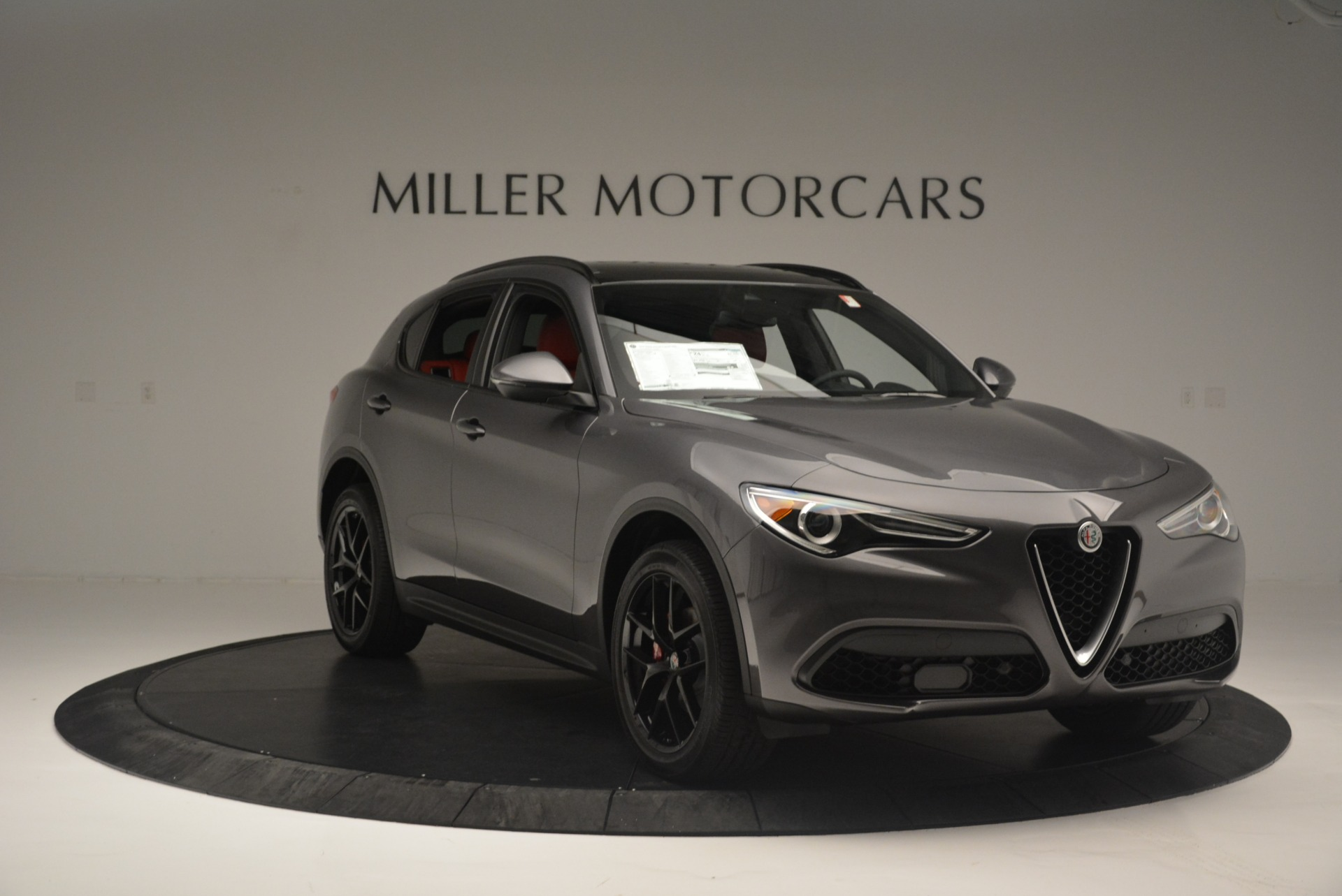 New 2018 Alfa Romeo Stelvio Ti Sport Q4 For Sale In Westport, CT 2393_p11