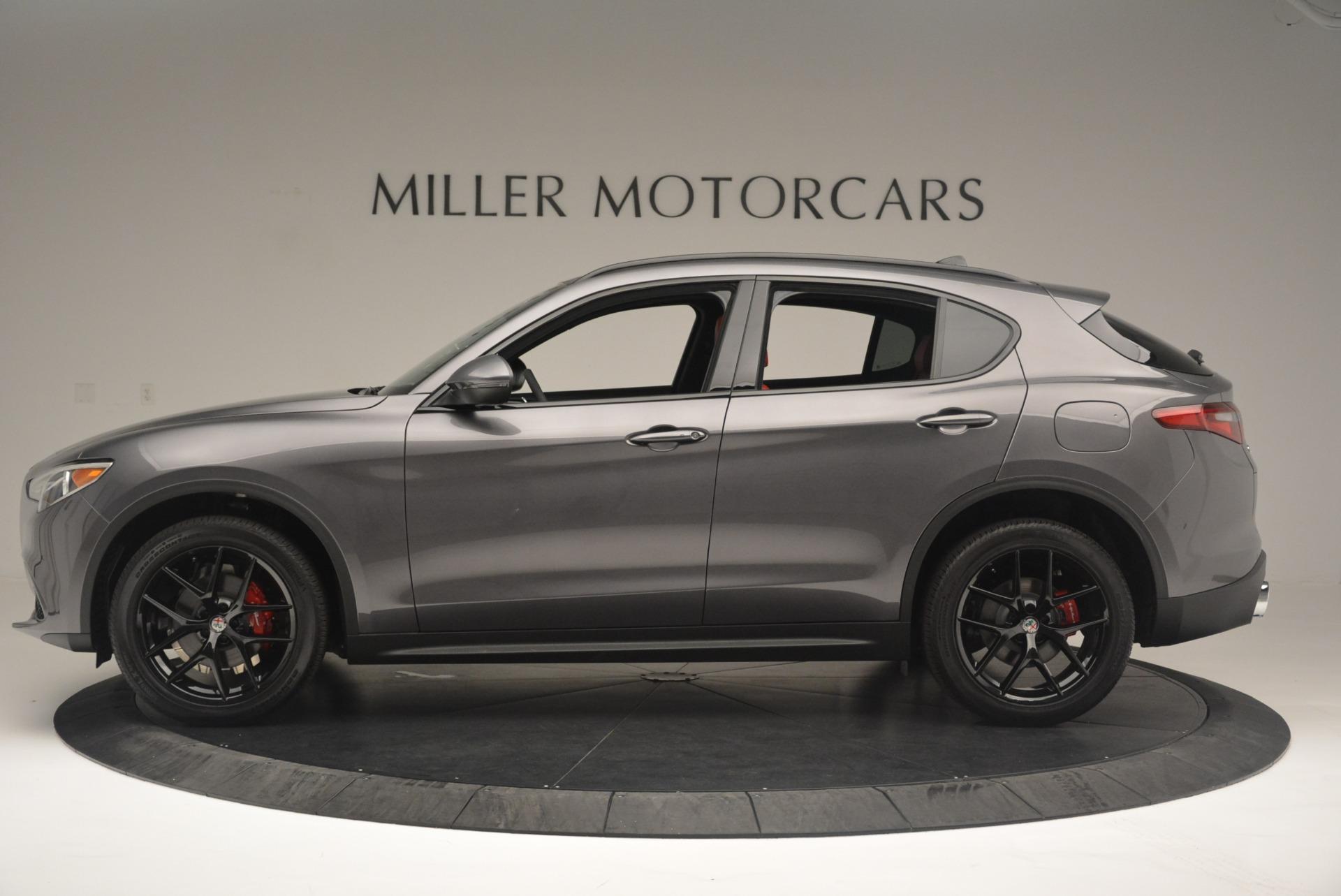 New 2018 Alfa Romeo Stelvio Ti Sport Q4 For Sale In Westport, CT 2393_p3