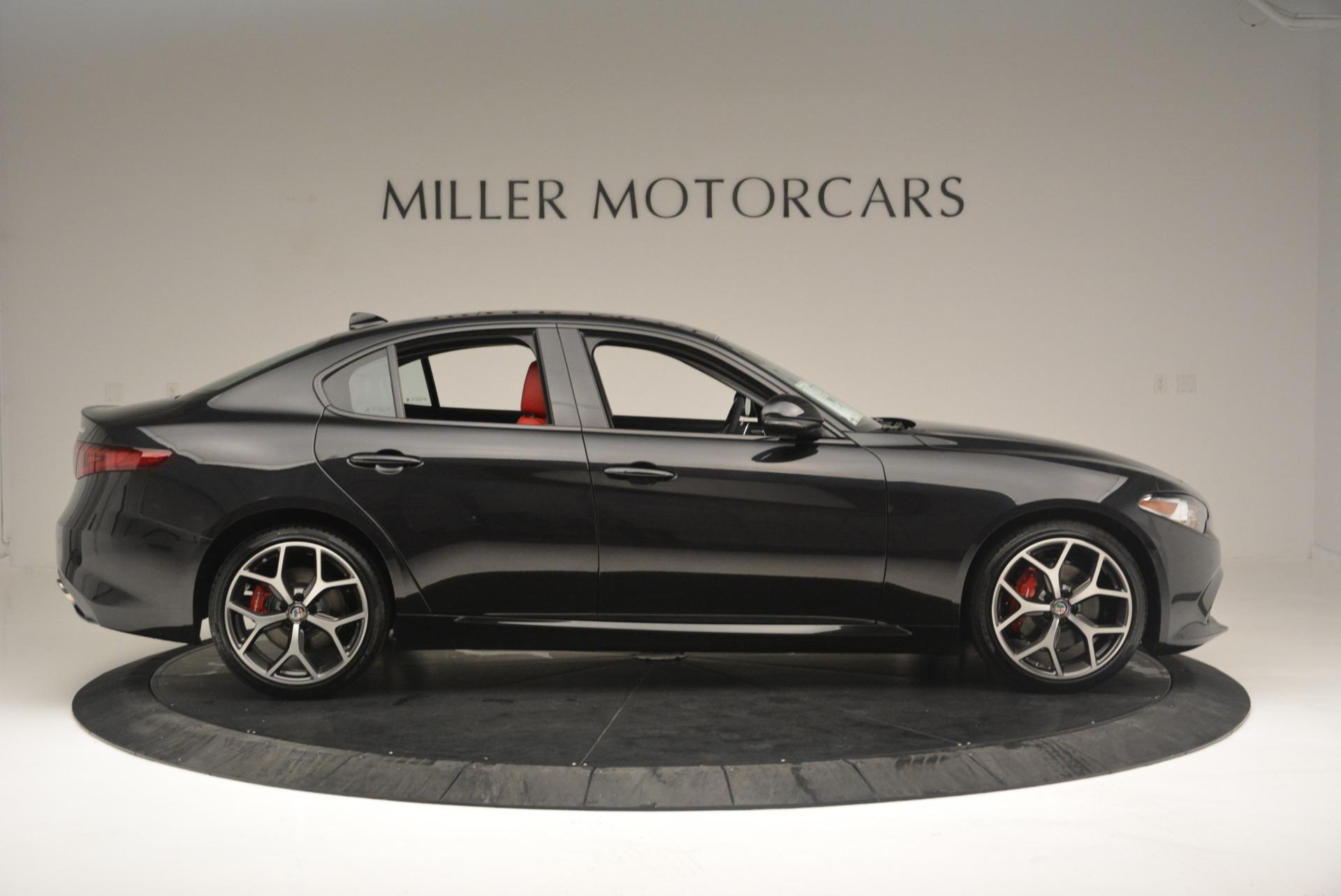 New 2018 Alfa Romeo Giulia Ti Sport Q4 For Sale In Westport, CT 2400_p9
