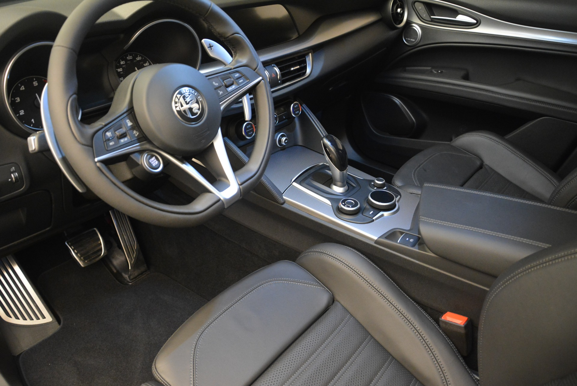 New 2018 Alfa Romeo Stelvio Ti Sport Q4 For Sale In Westport, CT 2408_p19