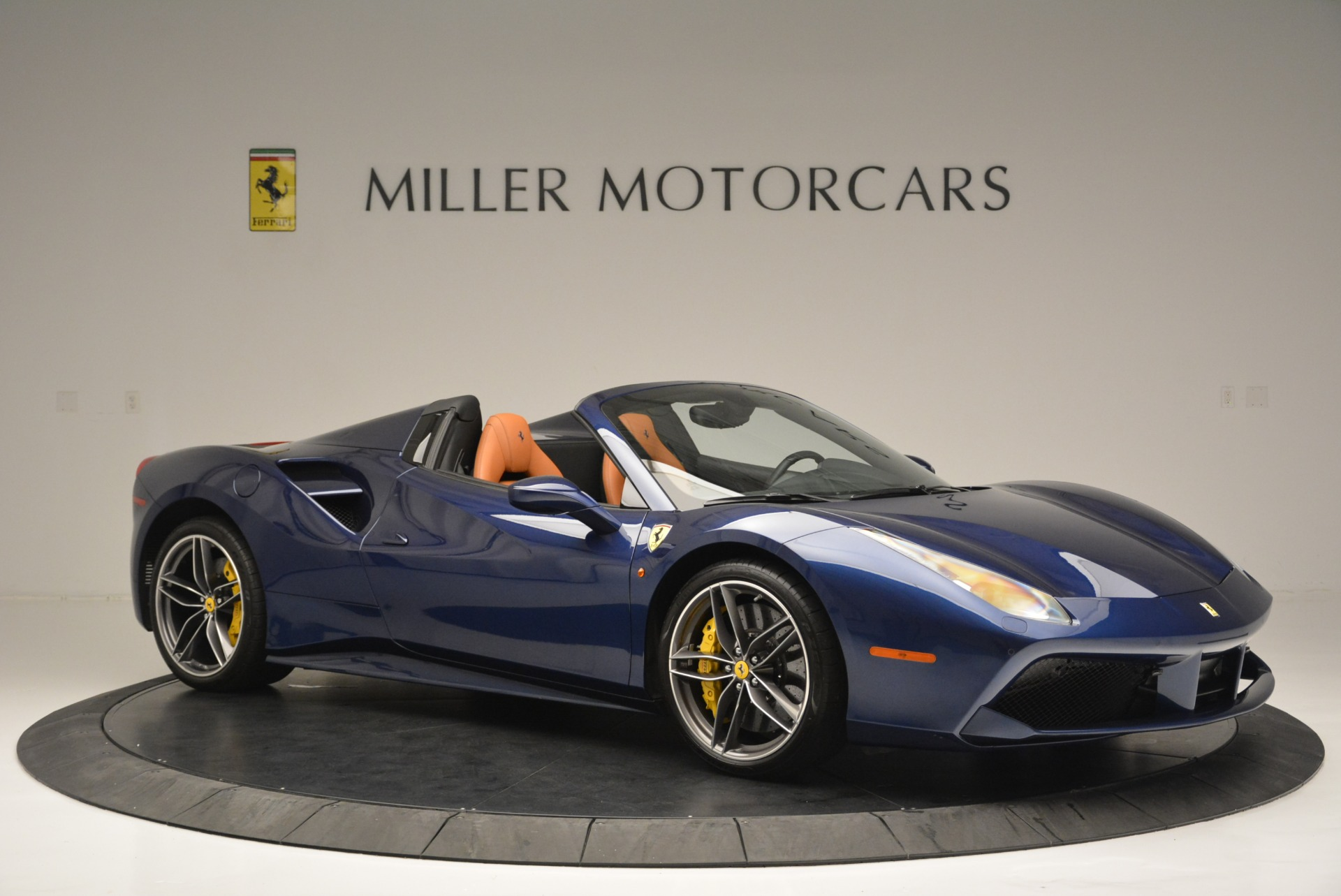 Used 2016 Ferrari 488 Spider  For Sale In Westport, CT 2411_p10