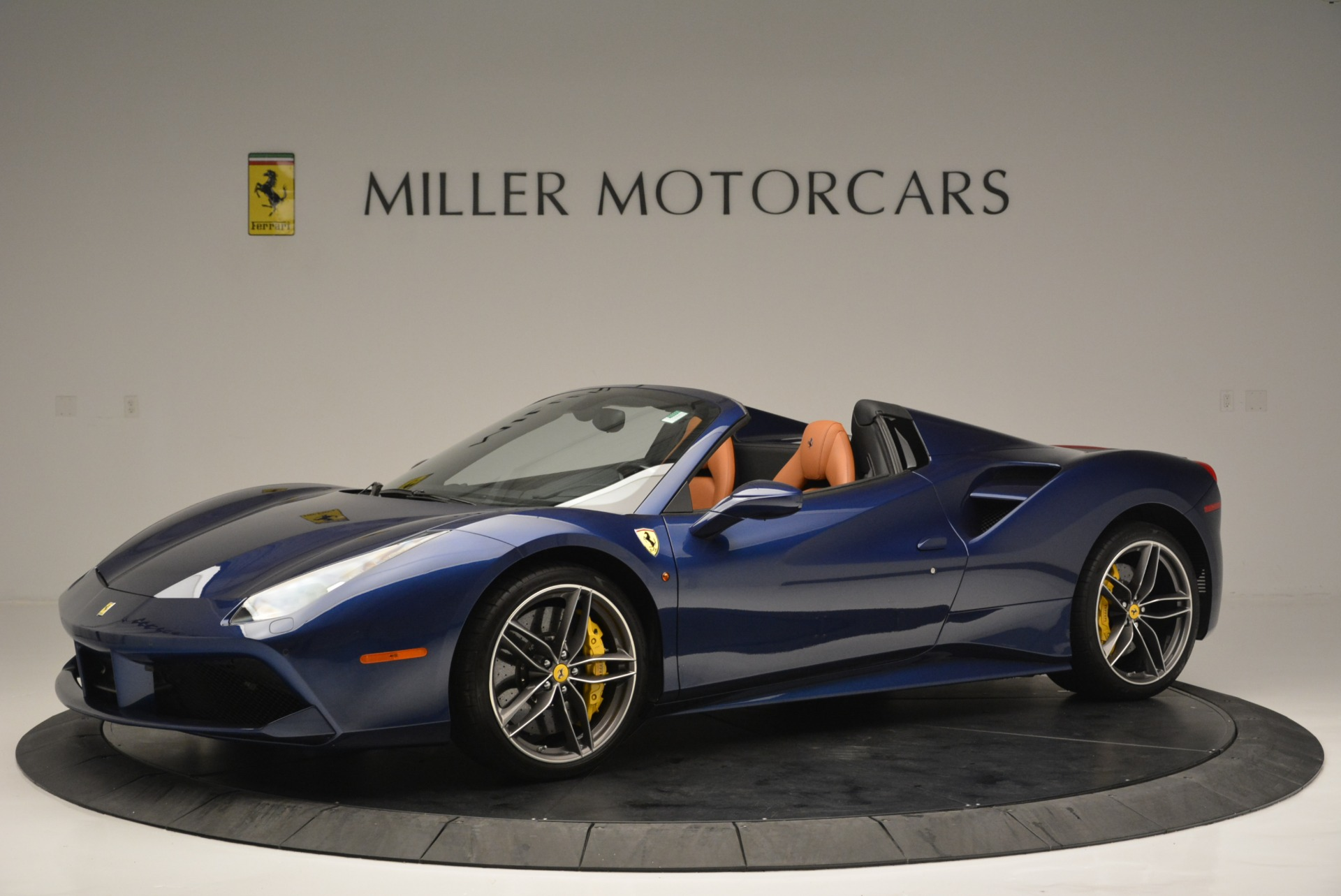 Used 2016 Ferrari 488 Spider  For Sale In Westport, CT 2411_p2