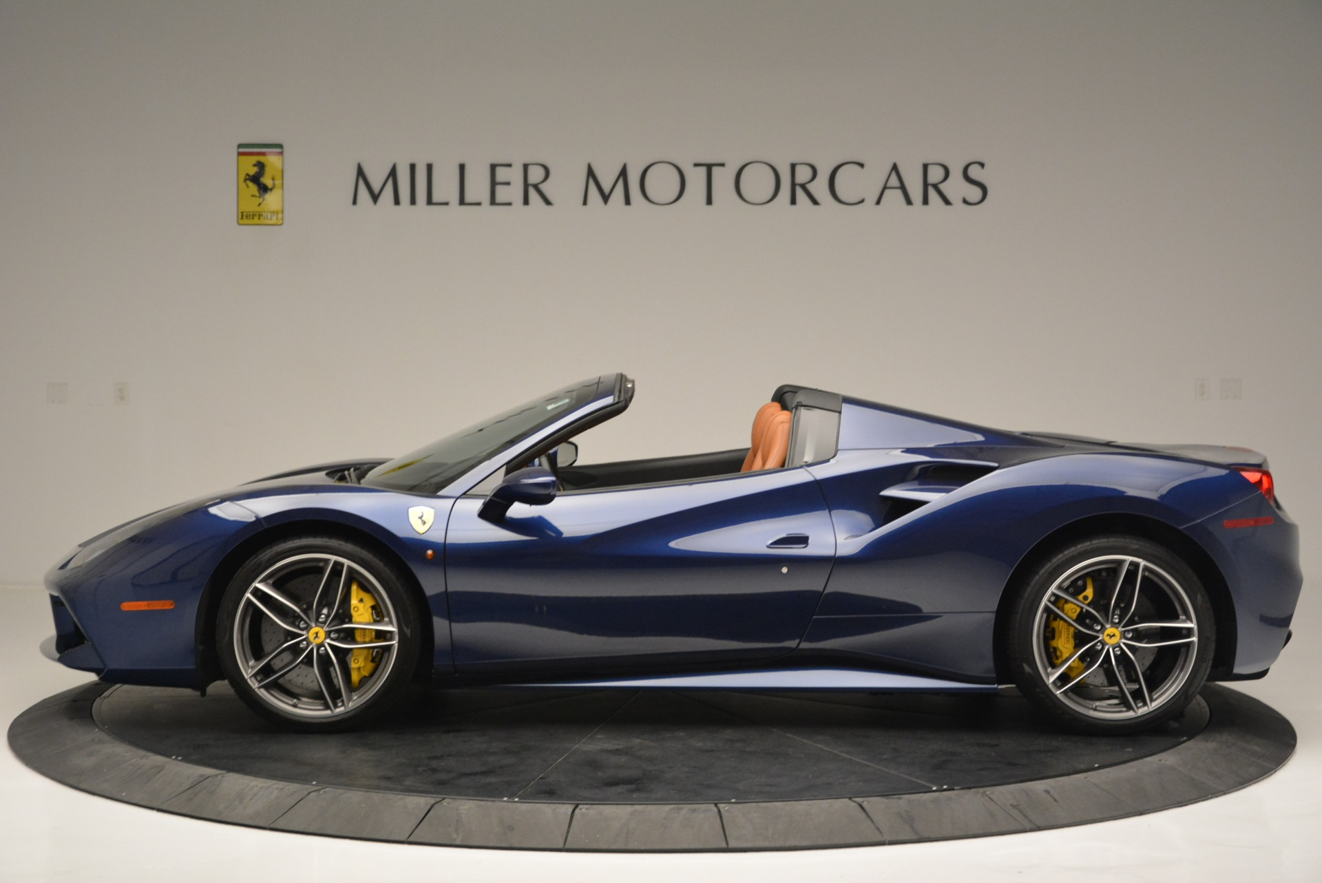 Used 2016 Ferrari 488 Spider  For Sale In Westport, CT 2411_p3