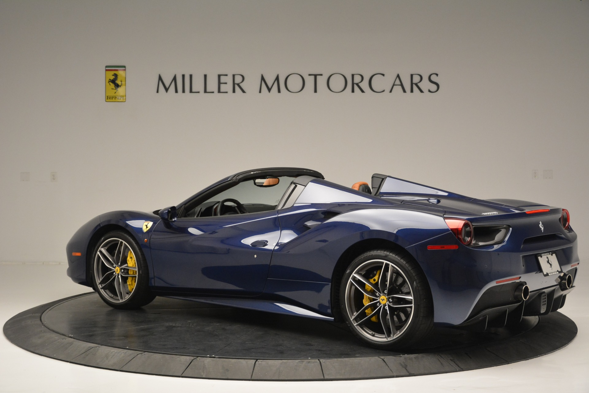 Used 2016 Ferrari 488 Spider  For Sale In Westport, CT 2411_p4