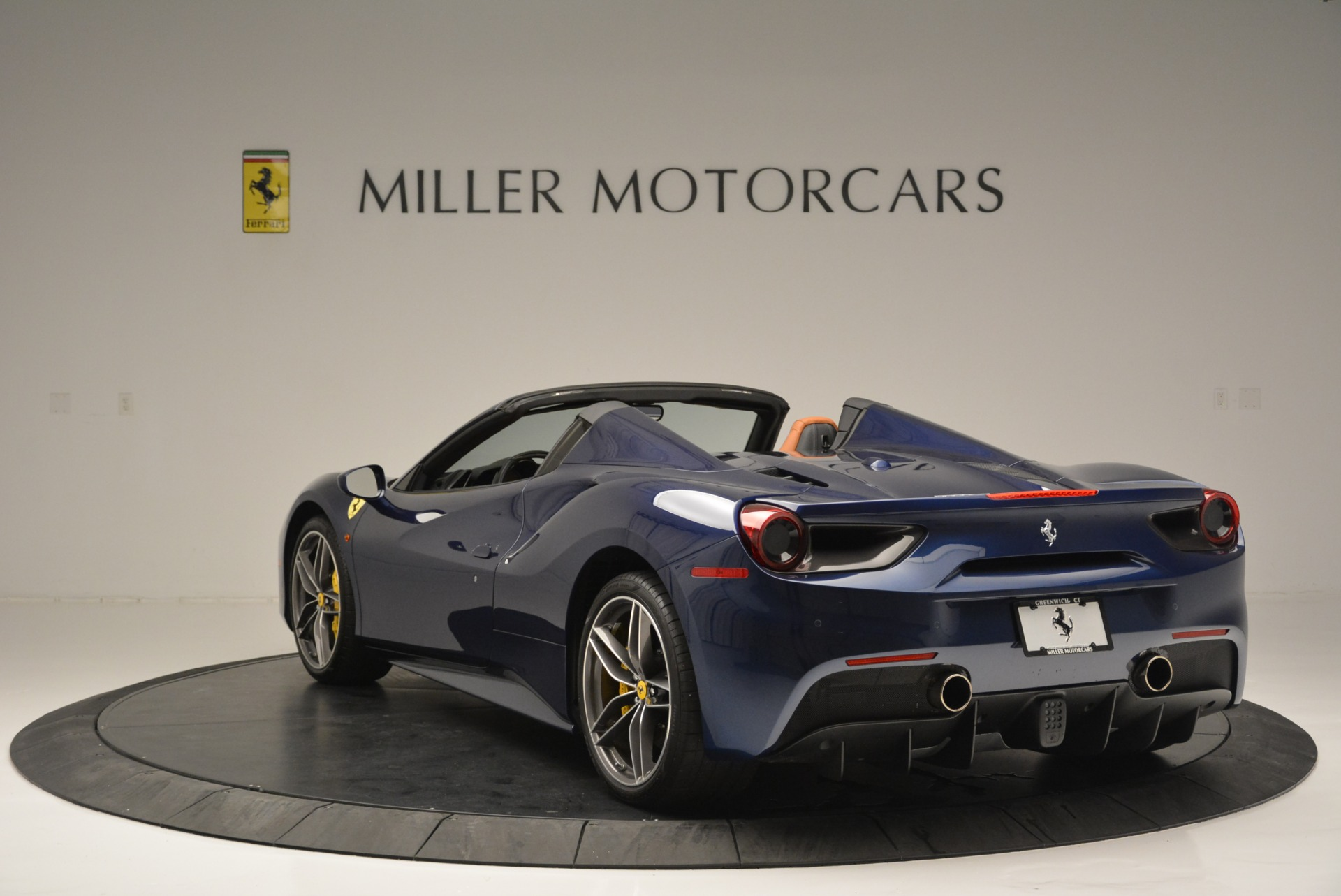 Used 2016 Ferrari 488 Spider  For Sale In Westport, CT 2411_p5