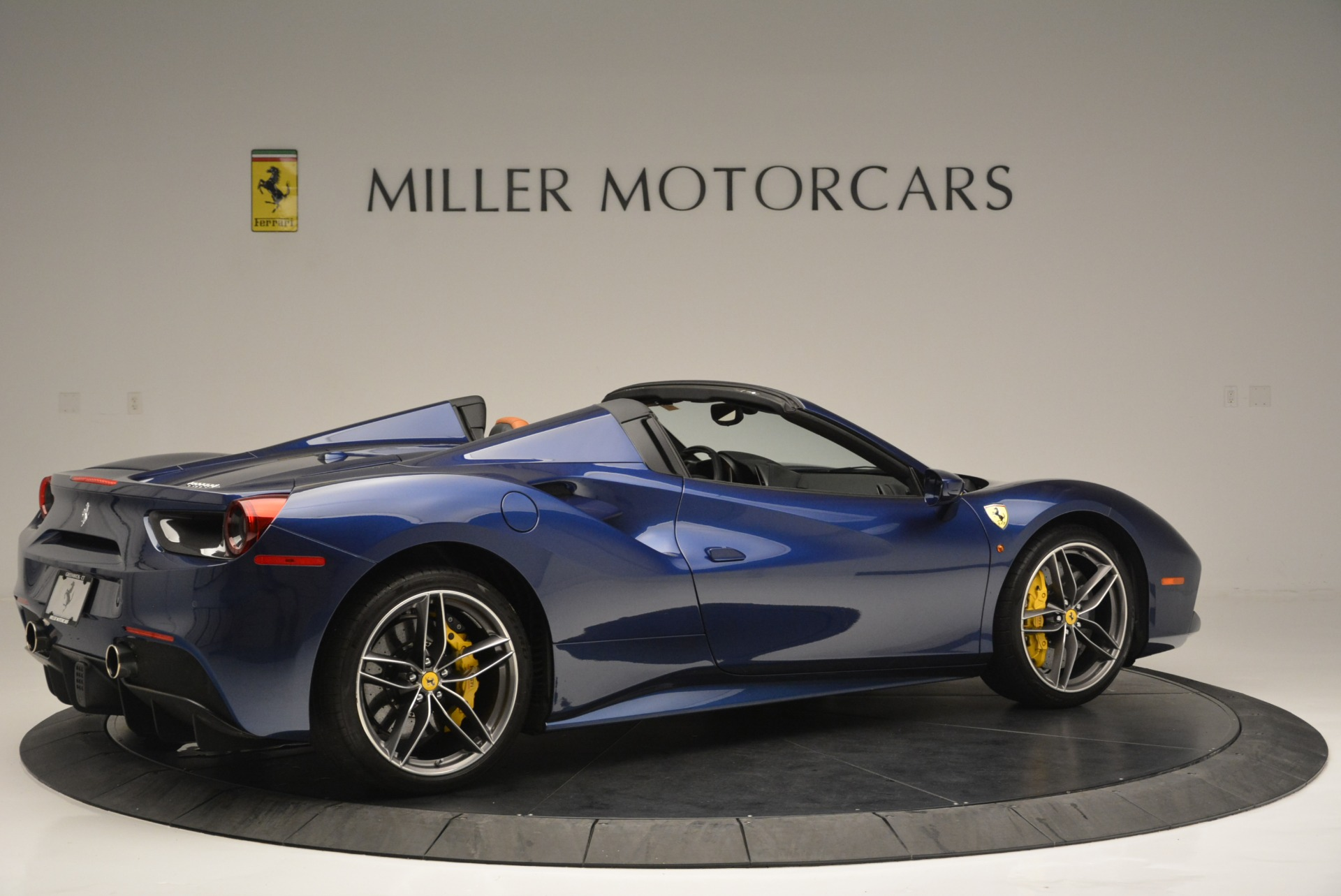 Used 2016 Ferrari 488 Spider  For Sale In Westport, CT 2411_p8