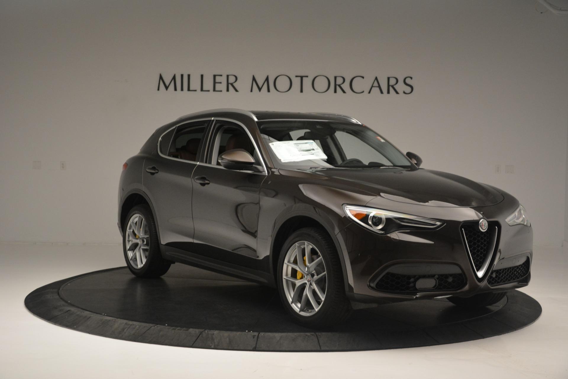 New 2018 Alfa Romeo Stelvio Ti Q4 For Sale In Westport, CT 2417_p11
