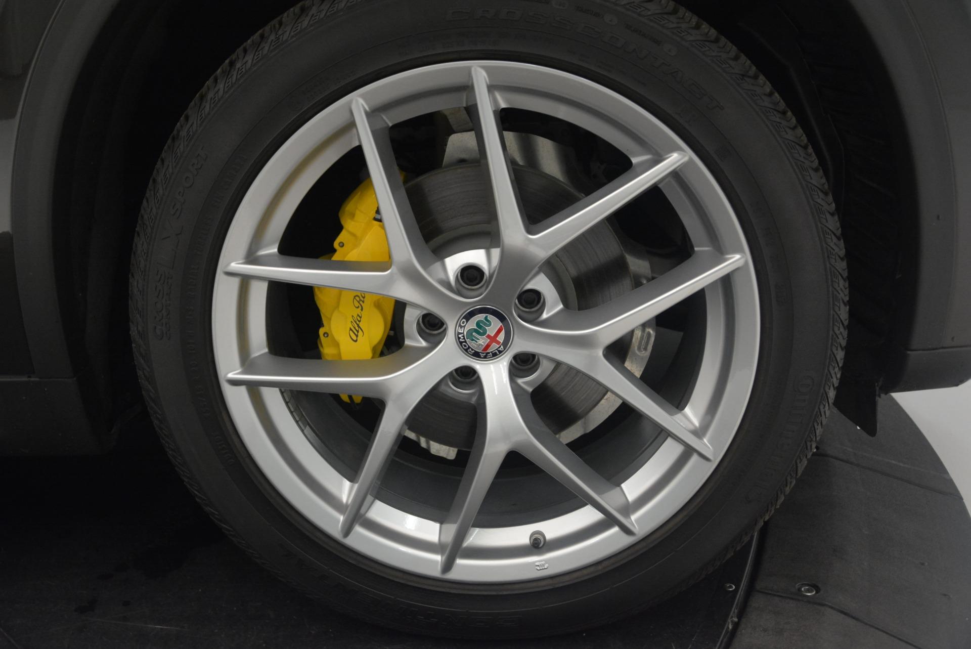 New 2018 Alfa Romeo Stelvio Ti Q4 For Sale In Westport, CT 2417_p25