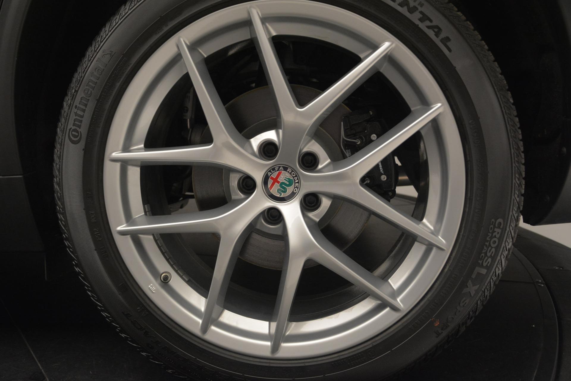 New 2018 Alfa Romeo Stelvio Ti Q4 For Sale In Westport, CT 2418_p8