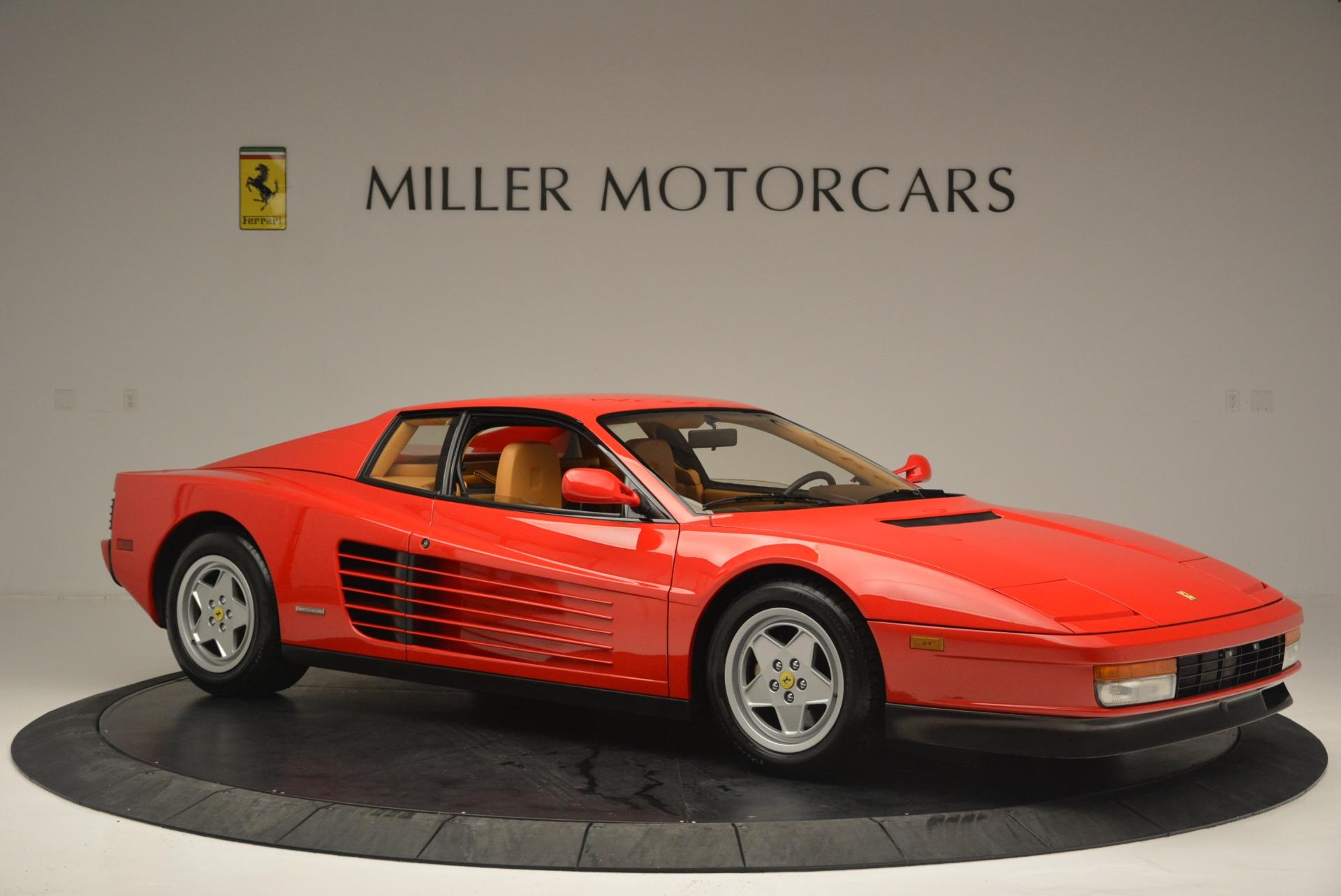 Used 1990 Ferrari Testarossa  For Sale In Westport, CT 2419_p10