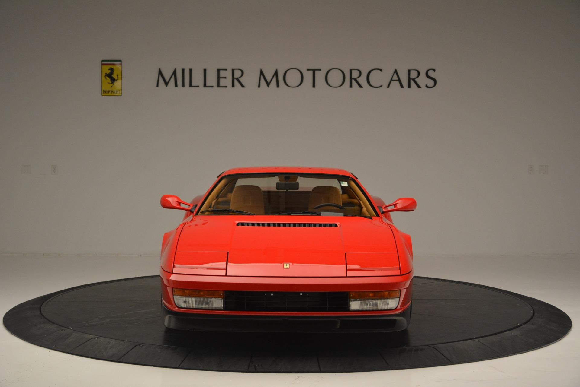 Used 1990 Ferrari Testarossa  For Sale In Westport, CT 2419_p12