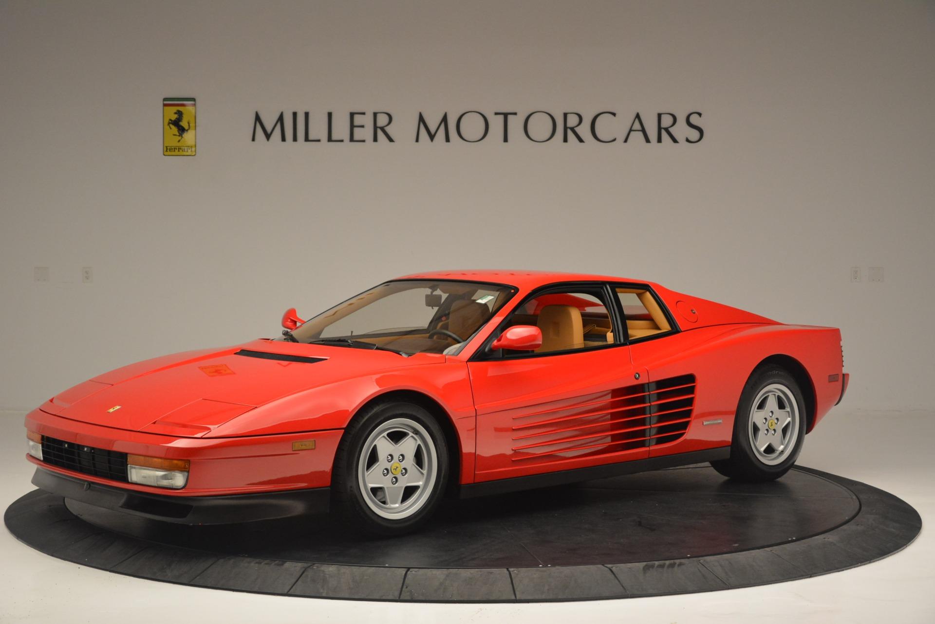 Used 1990 Ferrari Testarossa  For Sale In Westport, CT 2419_p2