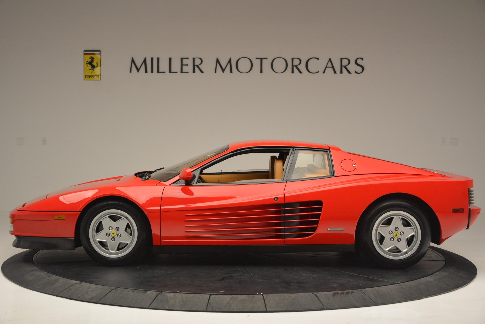 Used 1990 Ferrari Testarossa  For Sale In Westport, CT 2419_p3