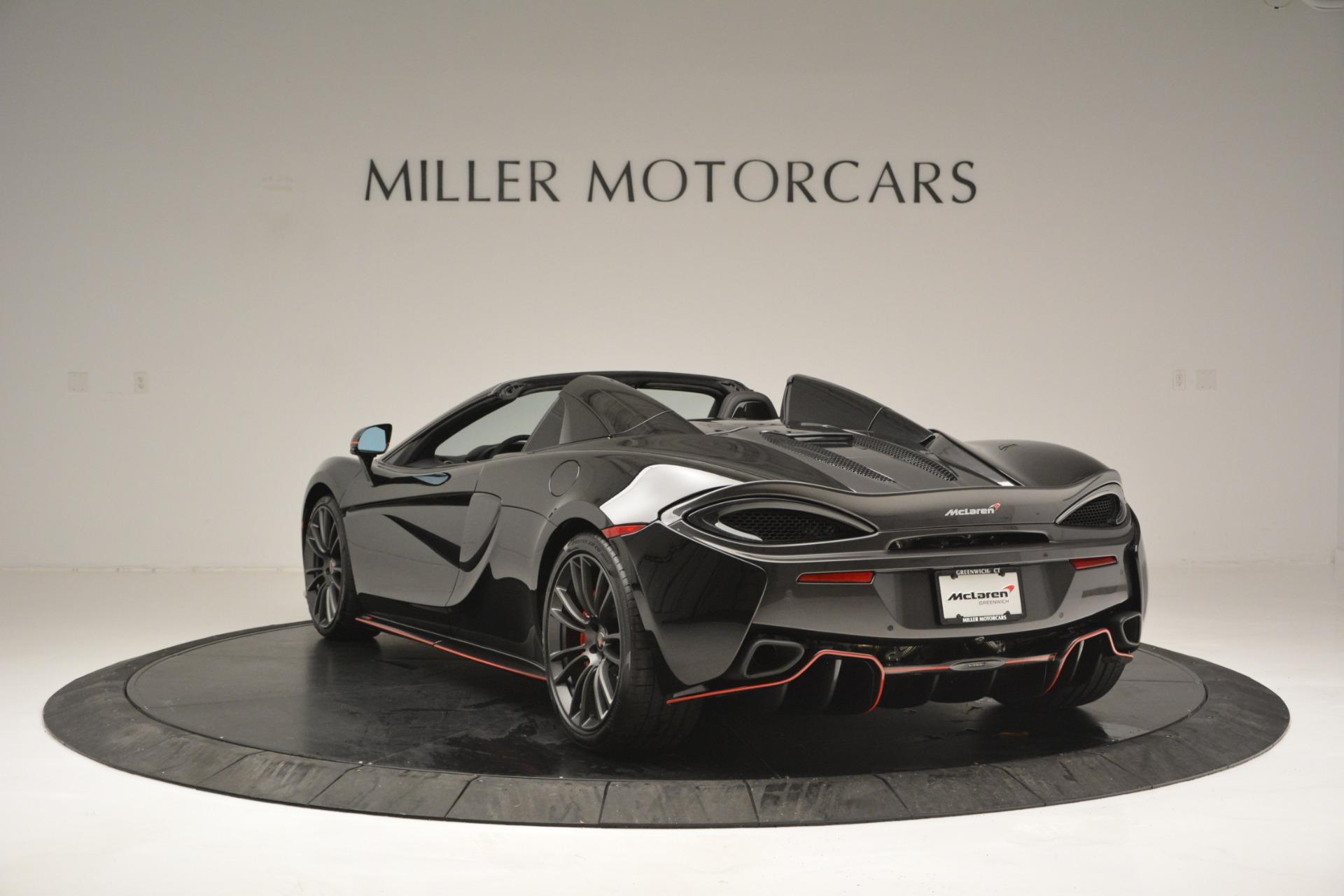 Used 2018 McLaren 570S Spider For Sale In Westport, CT 2420_p5
