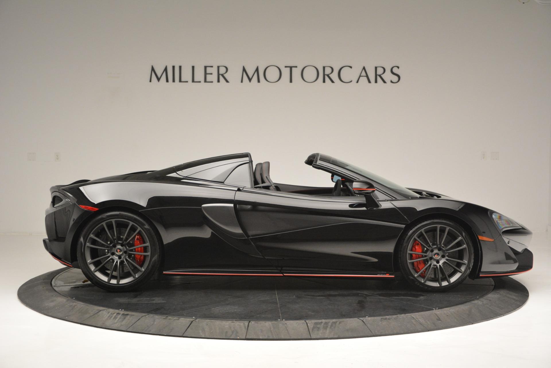 Used 2018 McLaren 570S Spider For Sale In Westport, CT 2420_p9
