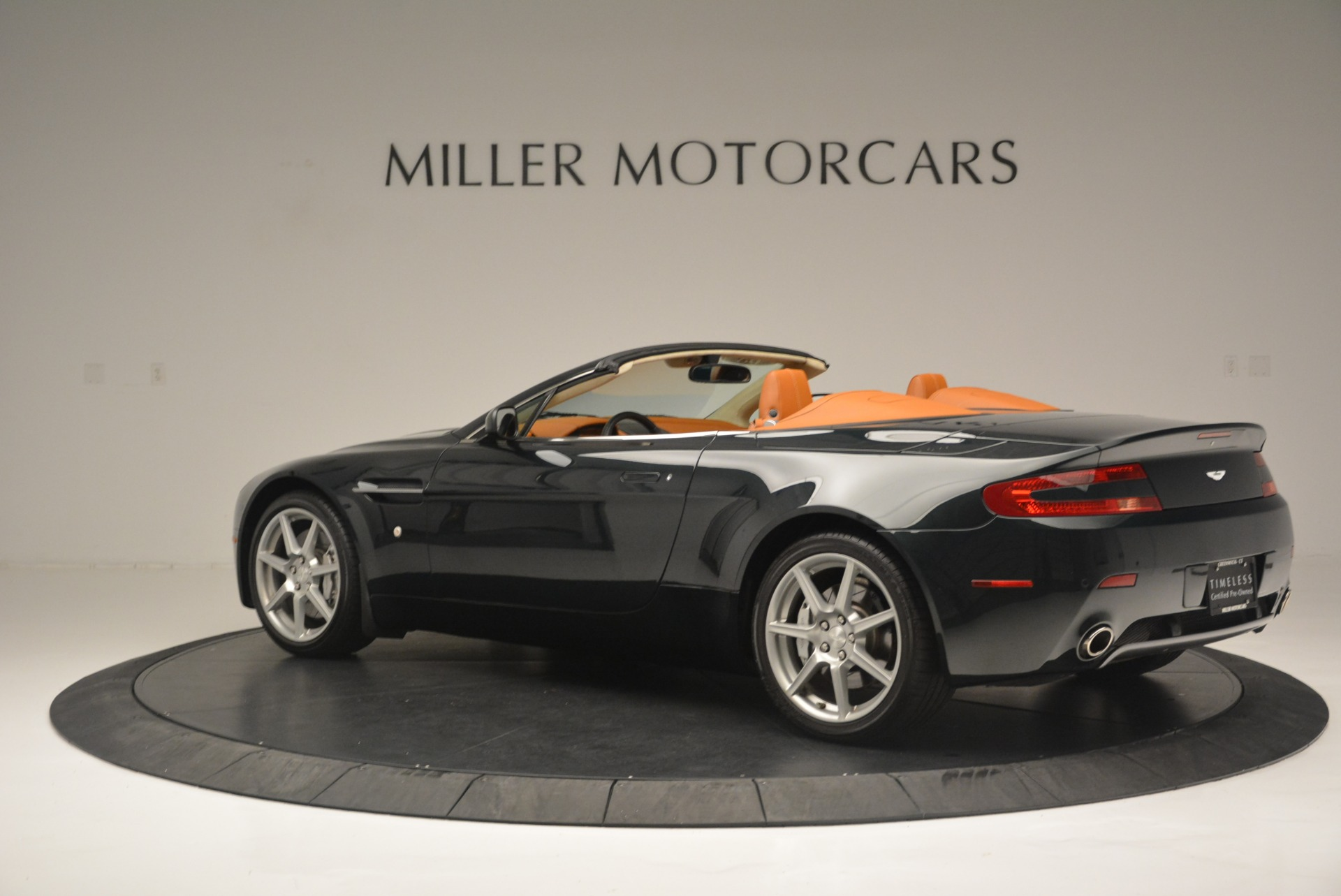Used 2008 Aston Martin V8 Vantage Roadster For Sale In Westport, CT 2422_p4