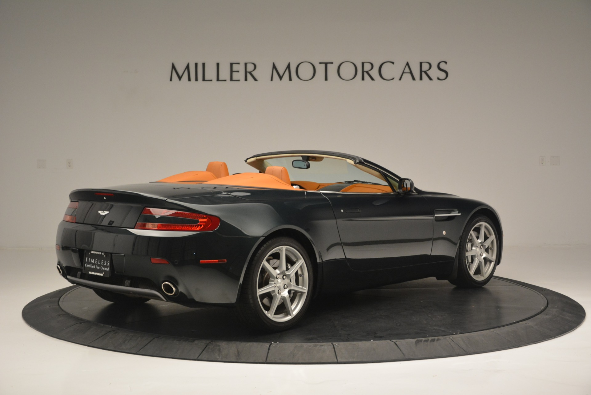 Used 2008 Aston Martin V8 Vantage Roadster For Sale In Westport, CT 2422_p8