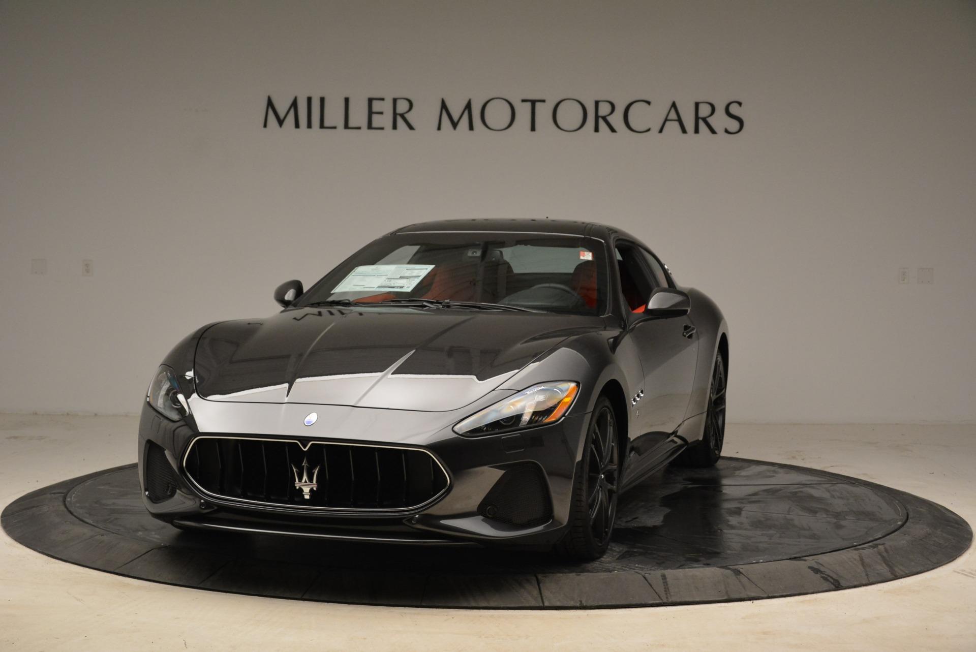 New 2018 Maserati GranTurismo Sport For Sale In Westport, CT 2426_main