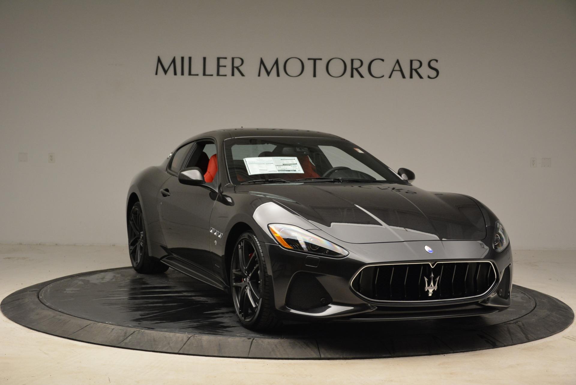New 2018 Maserati GranTurismo Sport For Sale In Westport, CT 2426_p11
