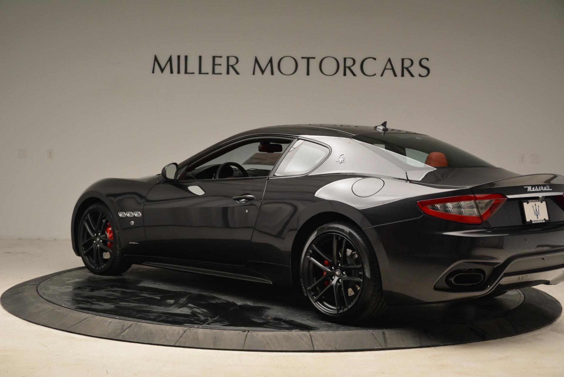 New 2018 Maserati GranTurismo Sport For Sale In Westport, CT 2426_p4