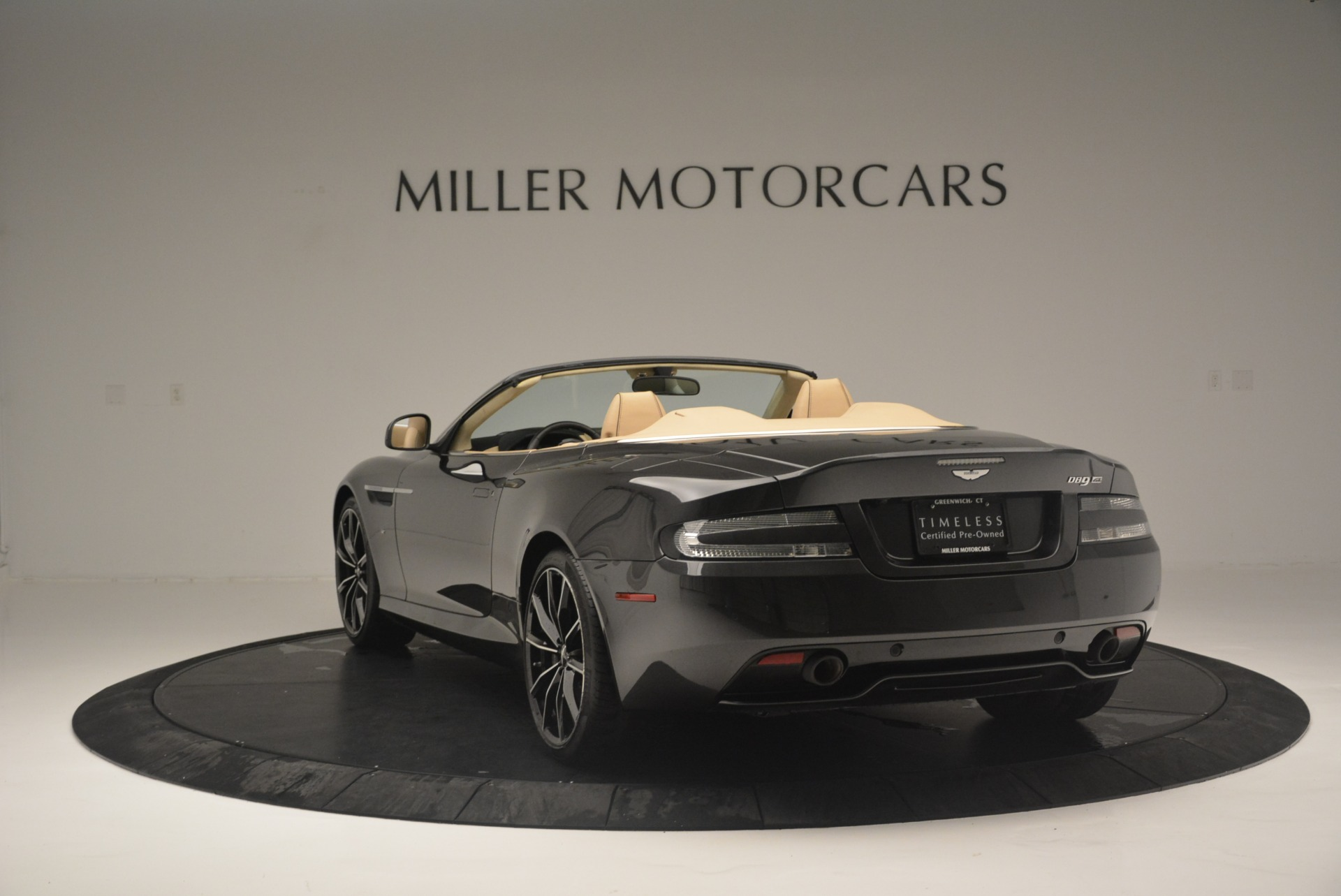 Used 2016 Aston Martin DB9 GT Volante For Sale In Westport, CT 2429_p5