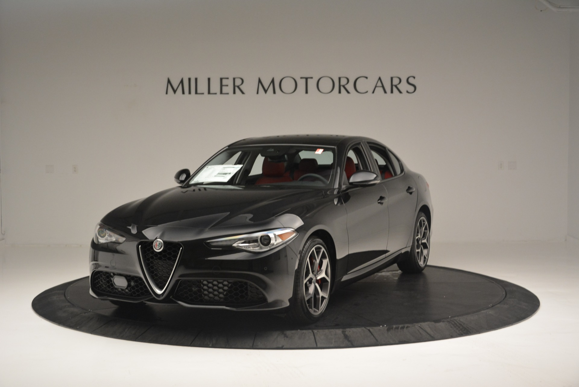 New 2018 Alfa Romeo Giulia Ti Sport Q4 For Sale In Westport, CT 2433_main