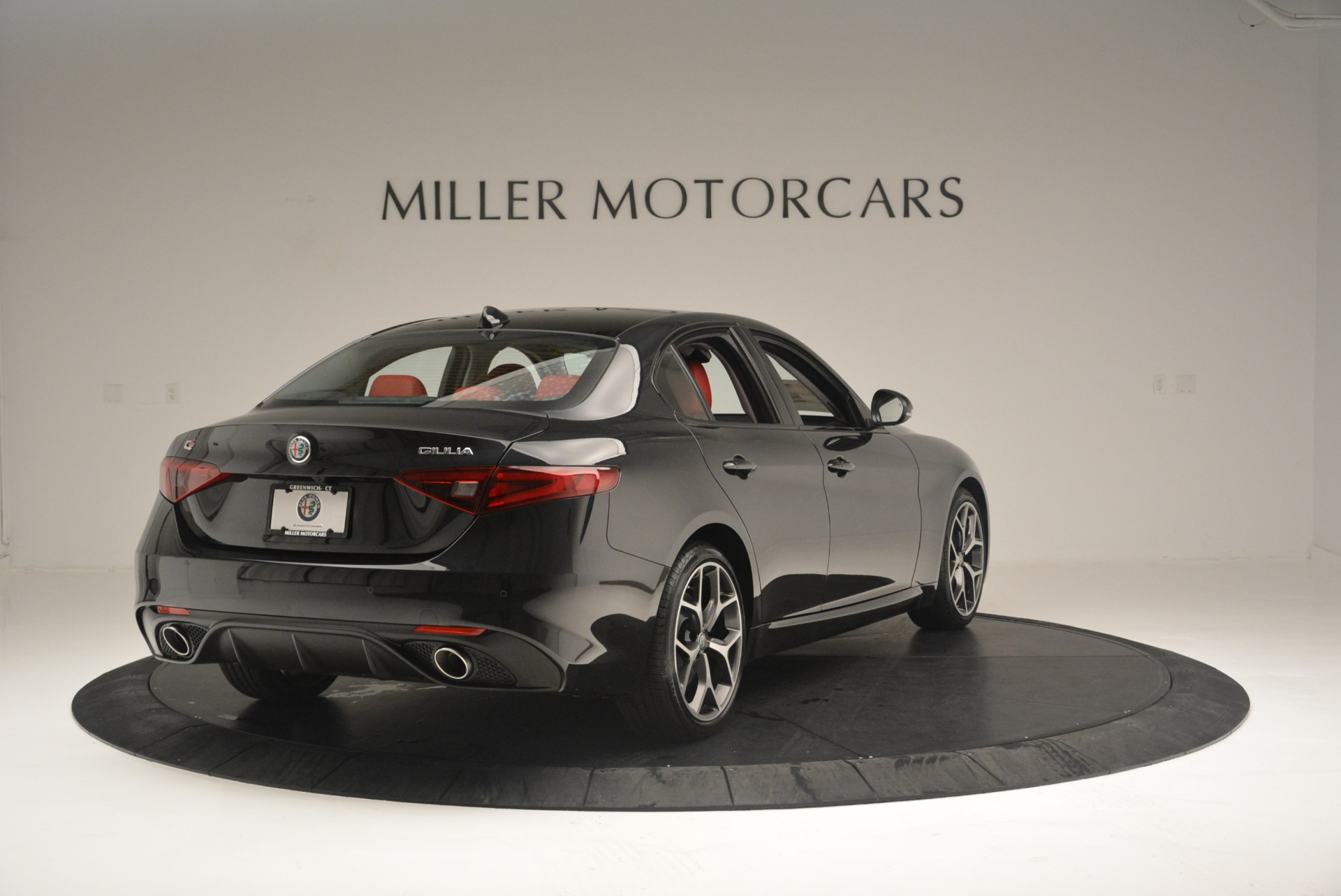 New 2018 Alfa Romeo Giulia Ti Sport Q4 For Sale In Westport, CT 2433_p7