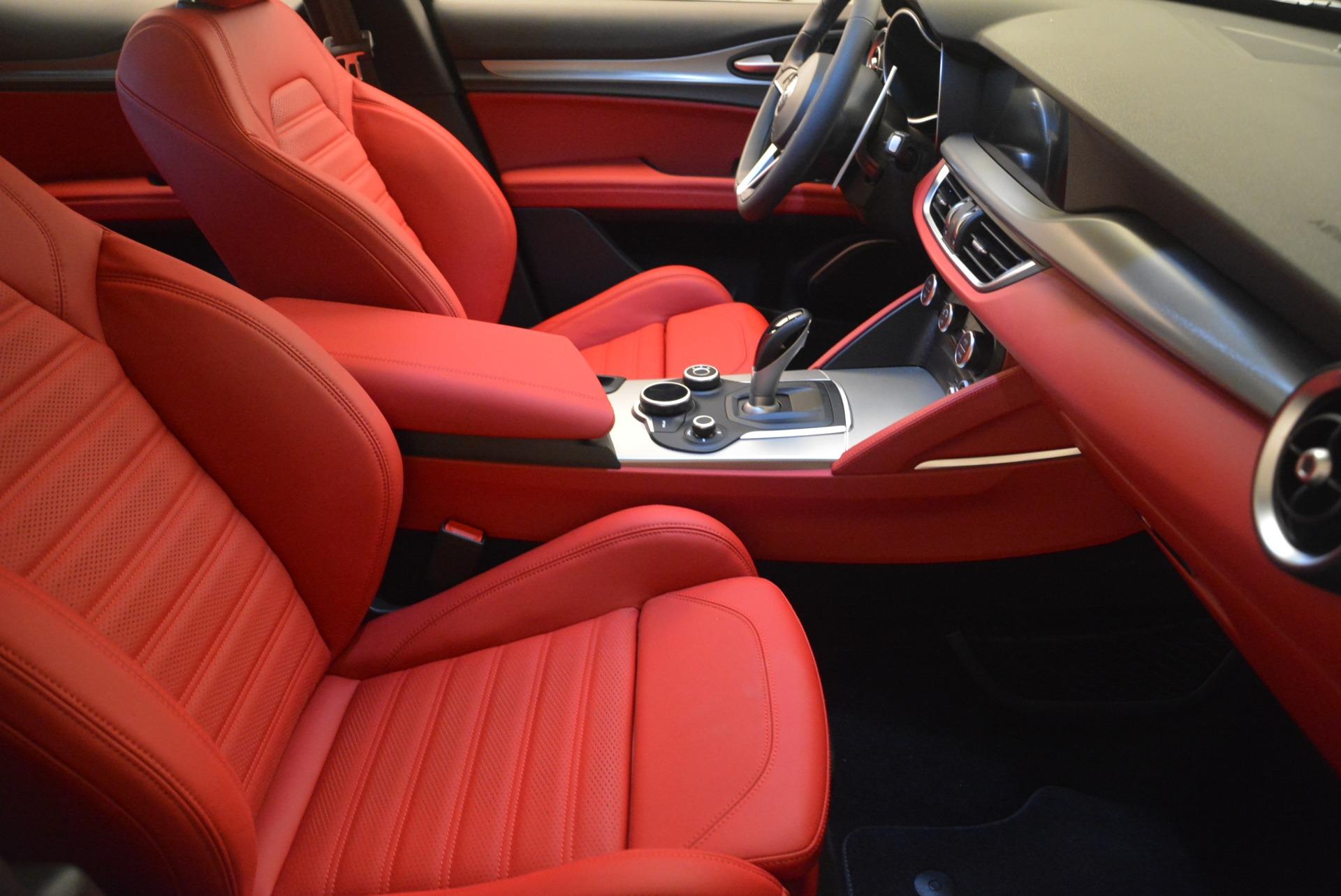 New 2018 Alfa Romeo Stelvio Ti Sport Q4 For Sale In Westport, CT 2434_p24