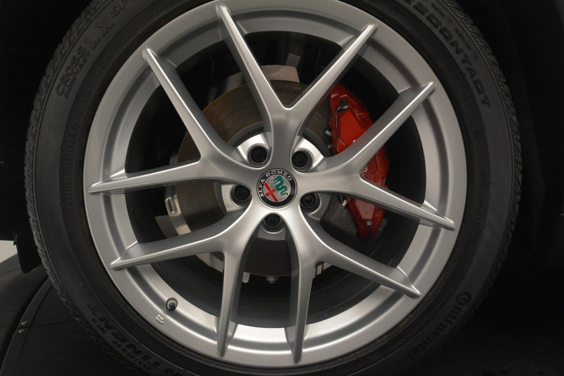 New 2018 Alfa Romeo Stelvio Ti Sport Q4 For Sale In Westport, CT 2434_p26