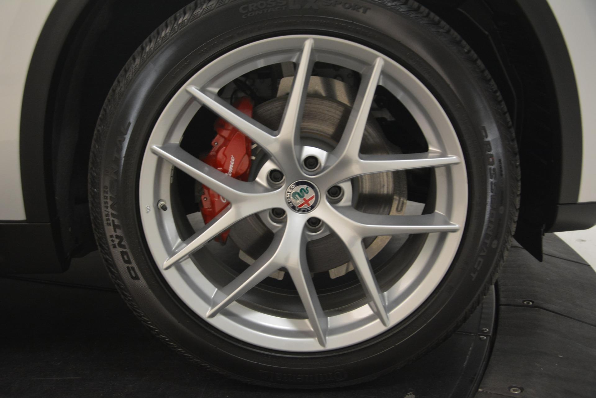 New 2018 Alfa Romeo Stelvio Ti Sport Q4 For Sale In Westport, CT 2436_p25