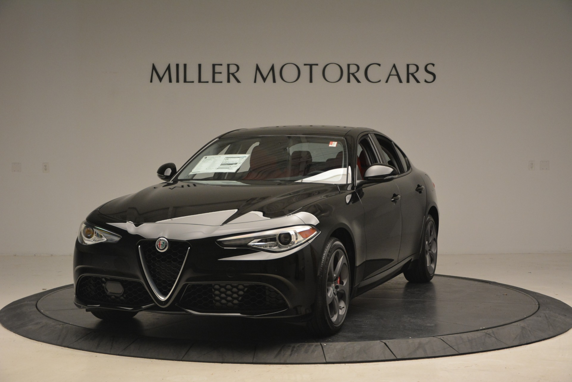 New 2018 Alfa Romeo Giulia Sport Q4 For Sale In Westport, CT 2440_main