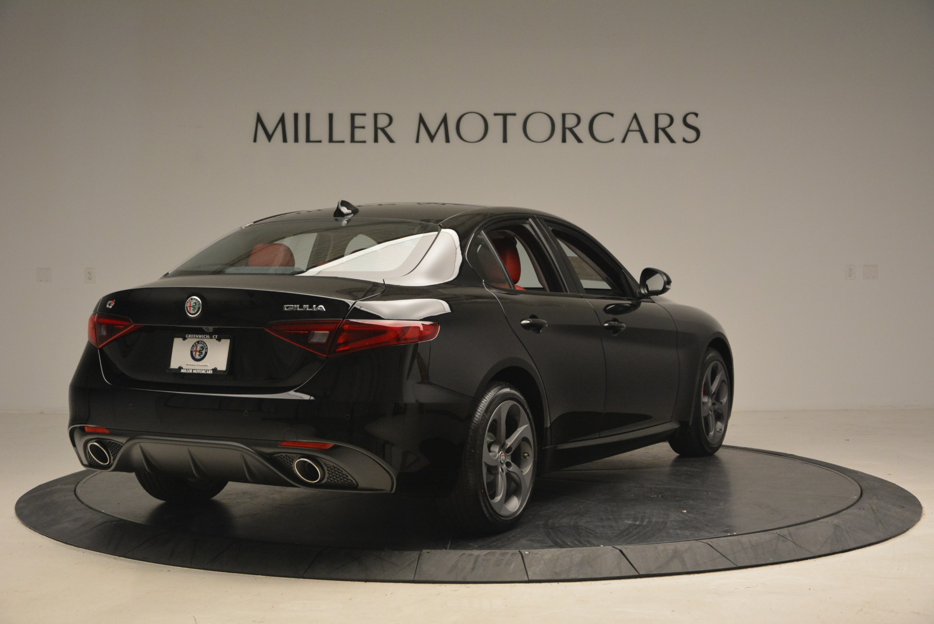 New 2018 Alfa Romeo Giulia Sport Q4 For Sale In Westport, CT 2440_p7