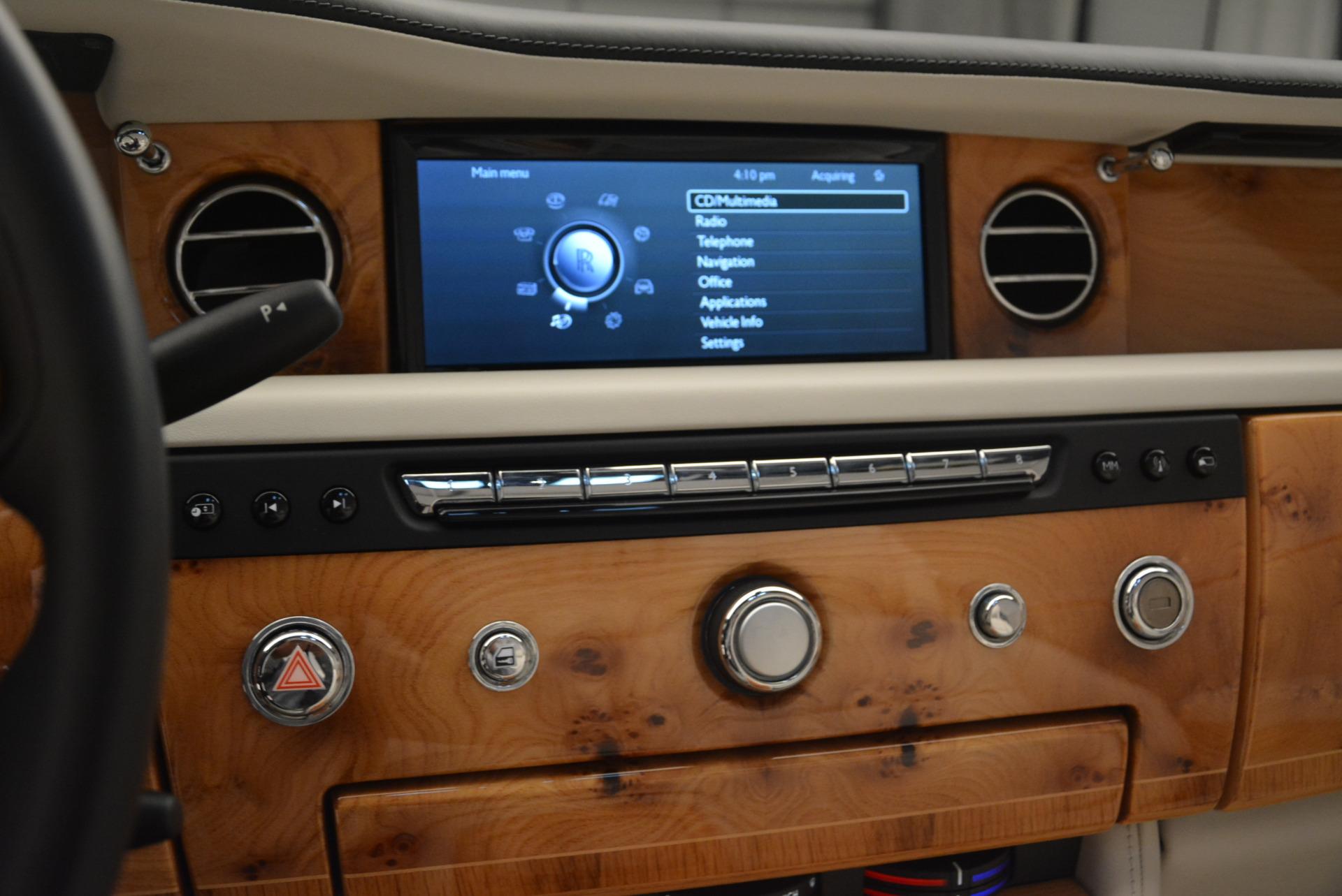 Used 2013 Rolls-Royce Phantom Drophead Coupe  For Sale In Westport, CT 2444_p22