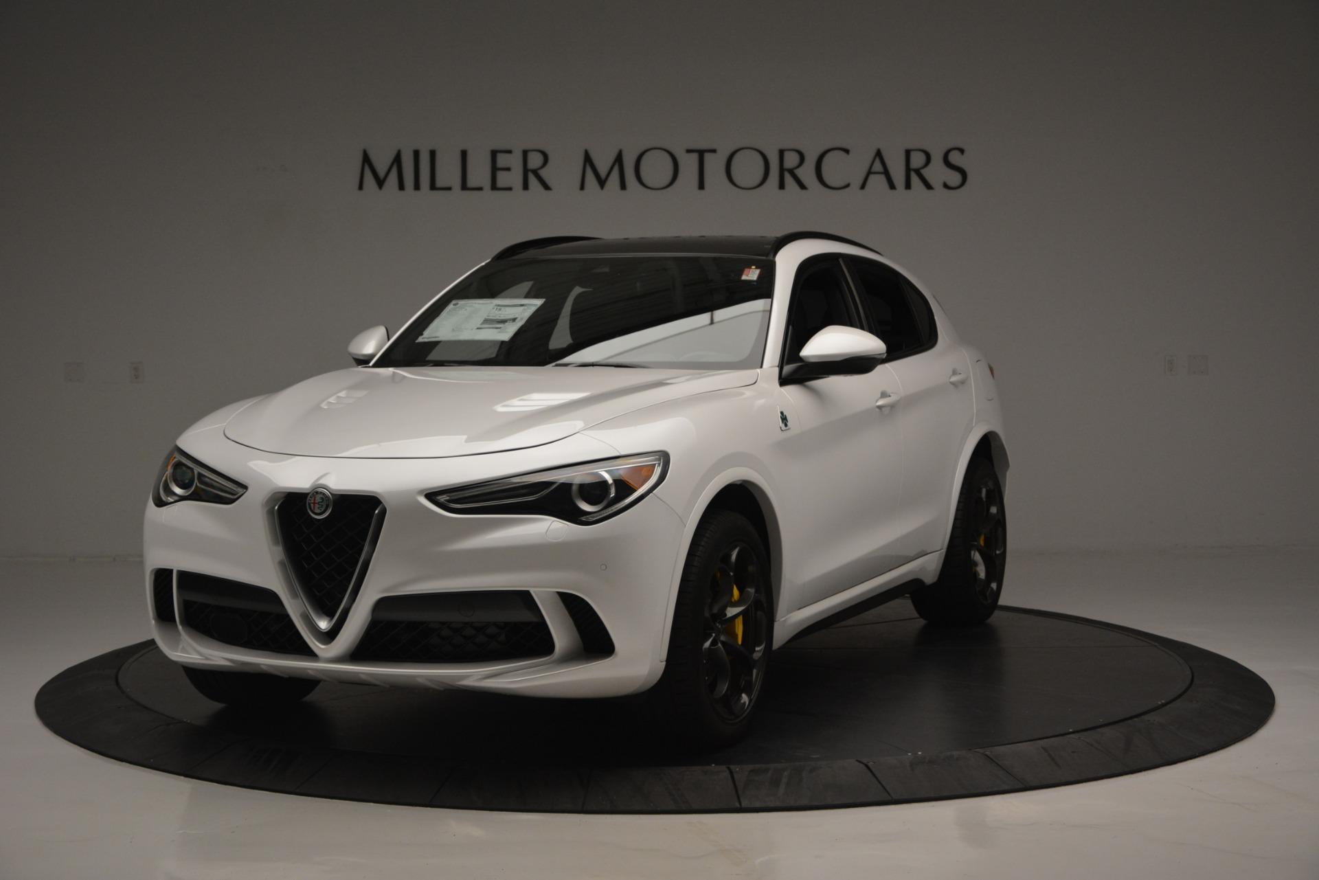 New 2018 Alfa Romeo Stelvio Quadrifoglio Quadrifoglio For Sale In Westport, CT 2456_main