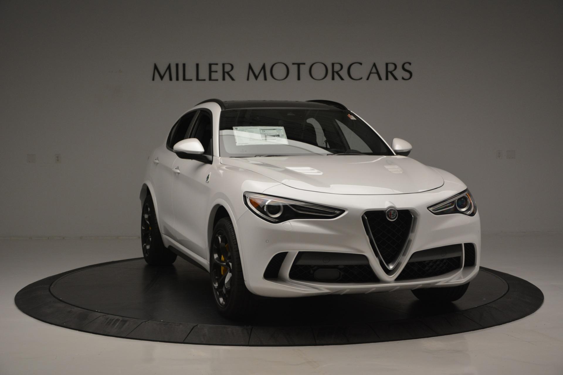 New 2018 Alfa Romeo Stelvio Quadrifoglio Quadrifoglio For Sale In Westport, CT 2456_p15