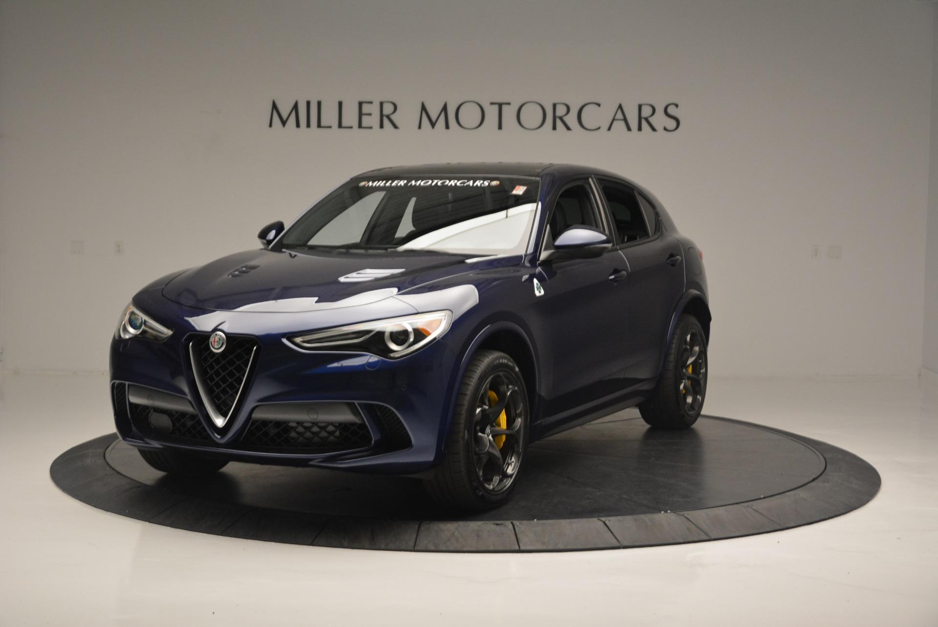 New 2018 Alfa Romeo Stelvio Quadrifoglio For Sale In Westport, CT 2458_main