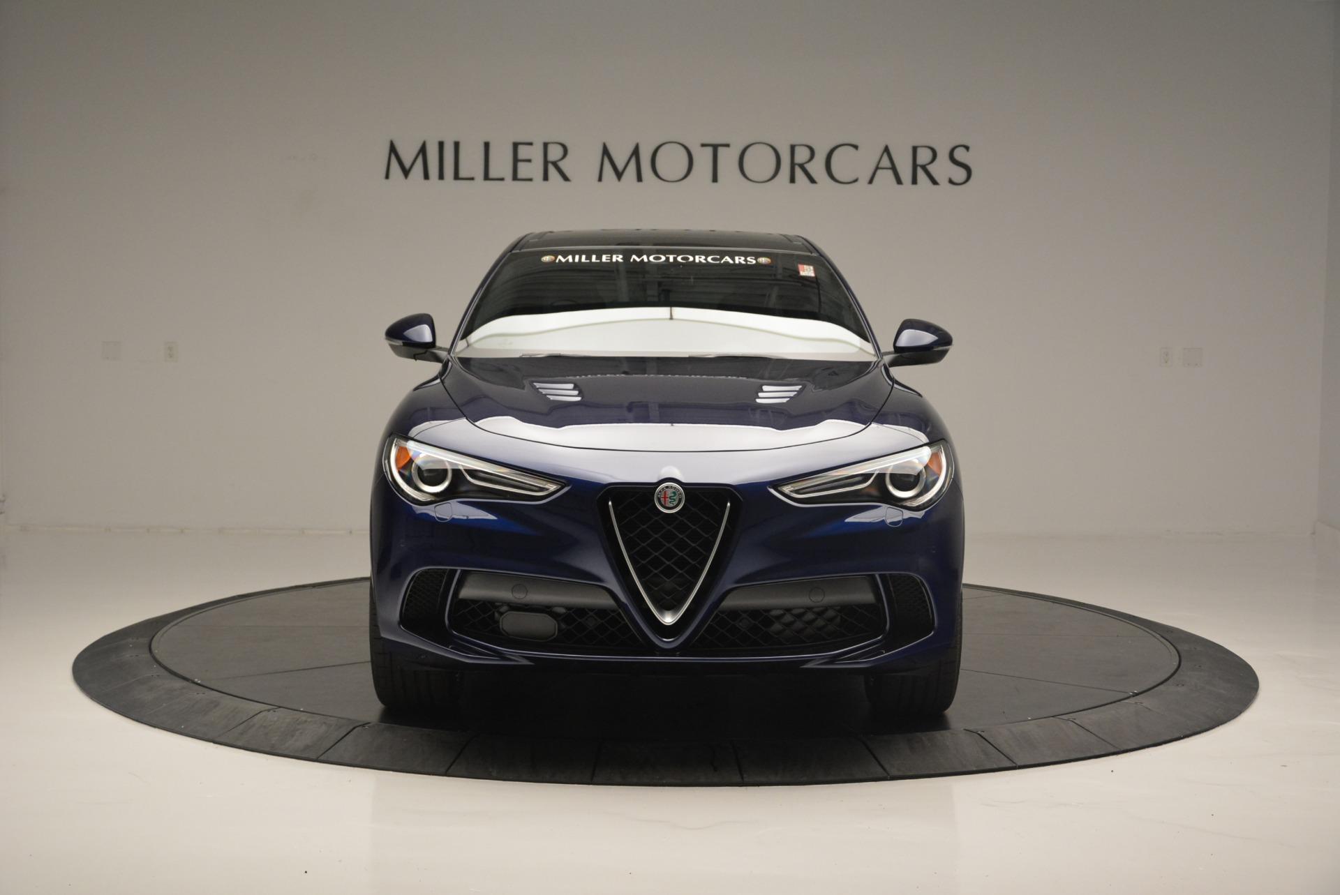 New 2018 Alfa Romeo Stelvio Quadrifoglio For Sale In Westport, CT 2458_p12