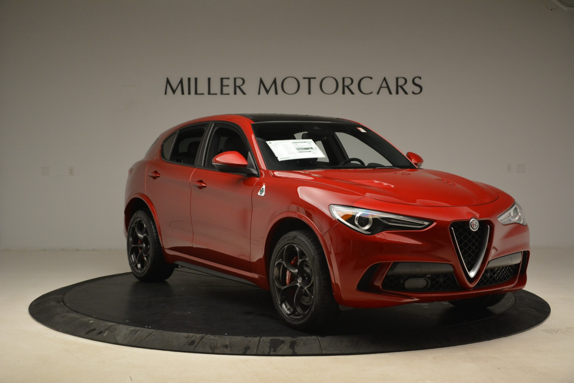 New 2018 Alfa Romeo Stelvio Quadrifoglio For Sale In Westport, CT 2459_p11