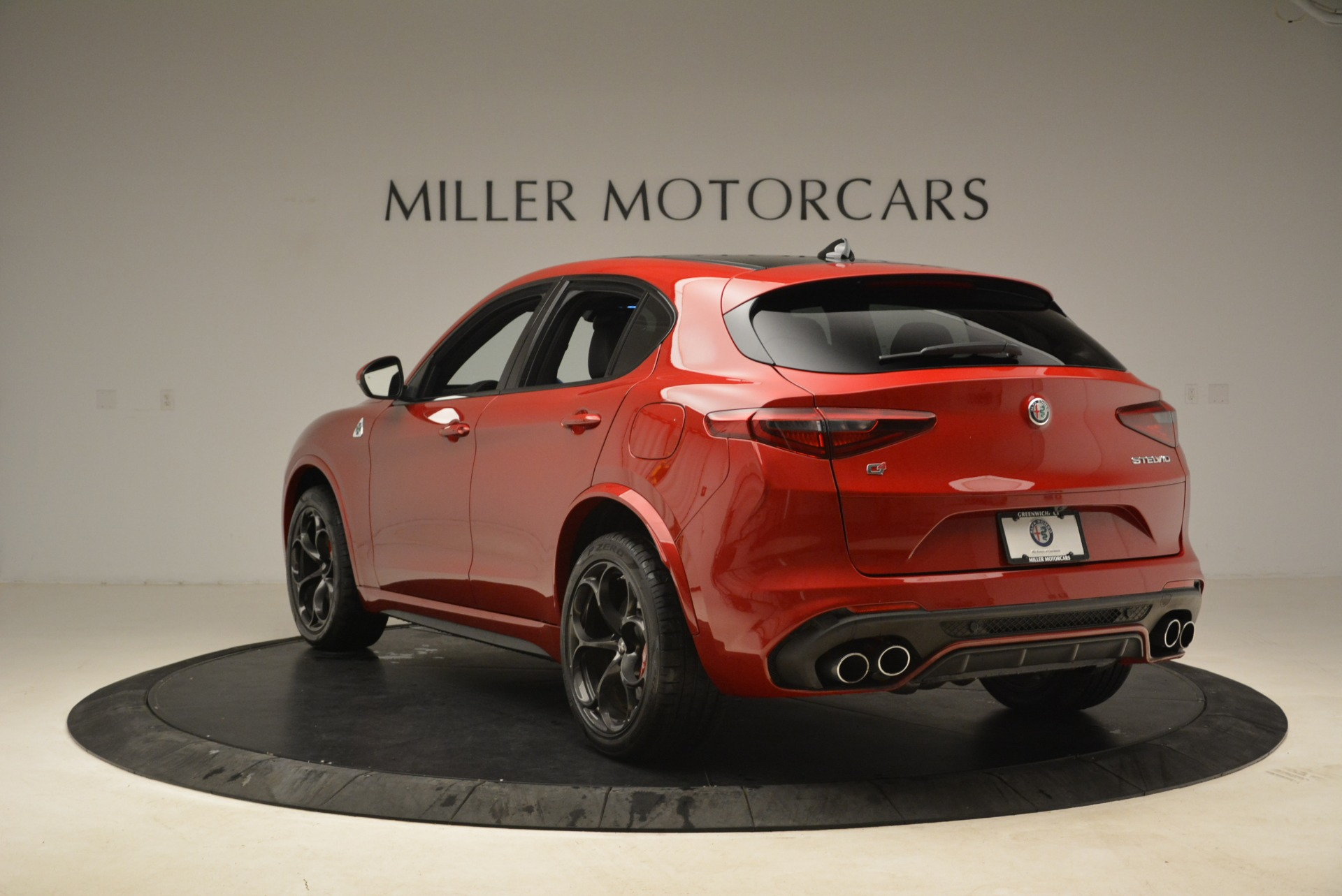 New 2018 Alfa Romeo Stelvio Quadrifoglio For Sale In Westport, CT 2459_p5