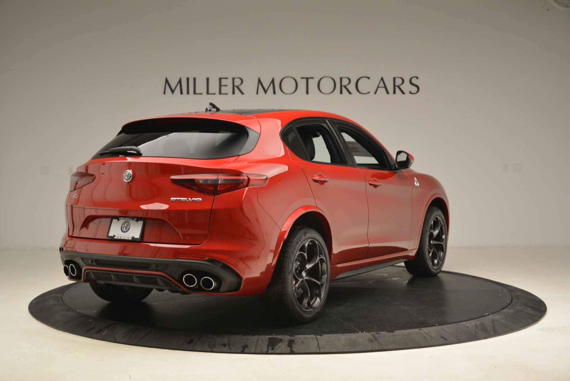 New 2018 Alfa Romeo Stelvio Quadrifoglio For Sale In Westport, CT 2459_p7
