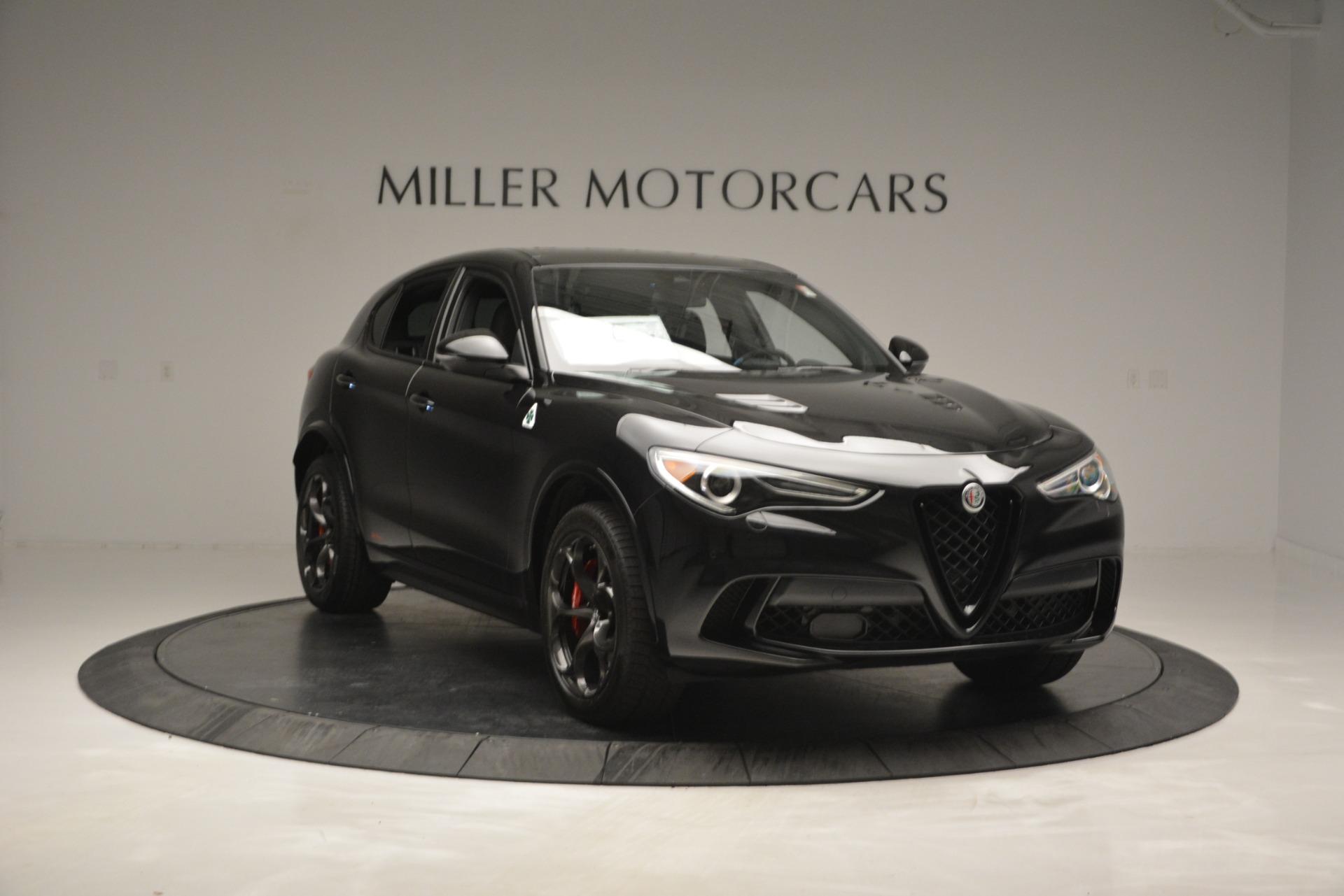 New 2018 Alfa Romeo Stelvio Quadrifoglio For Sale In Westport, CT 2460_p11