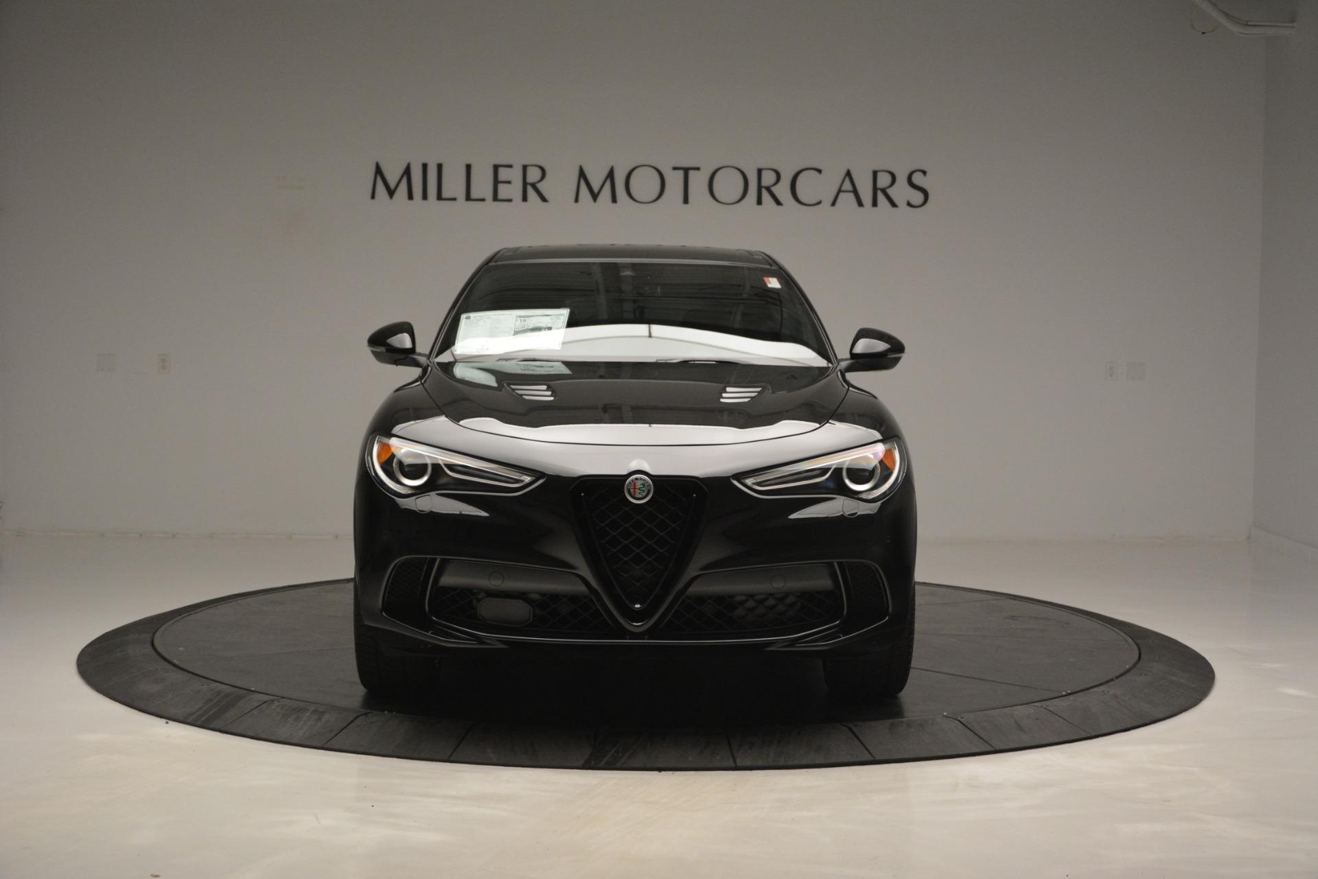 New 2018 Alfa Romeo Stelvio Quadrifoglio For Sale In Westport, CT 2460_p12